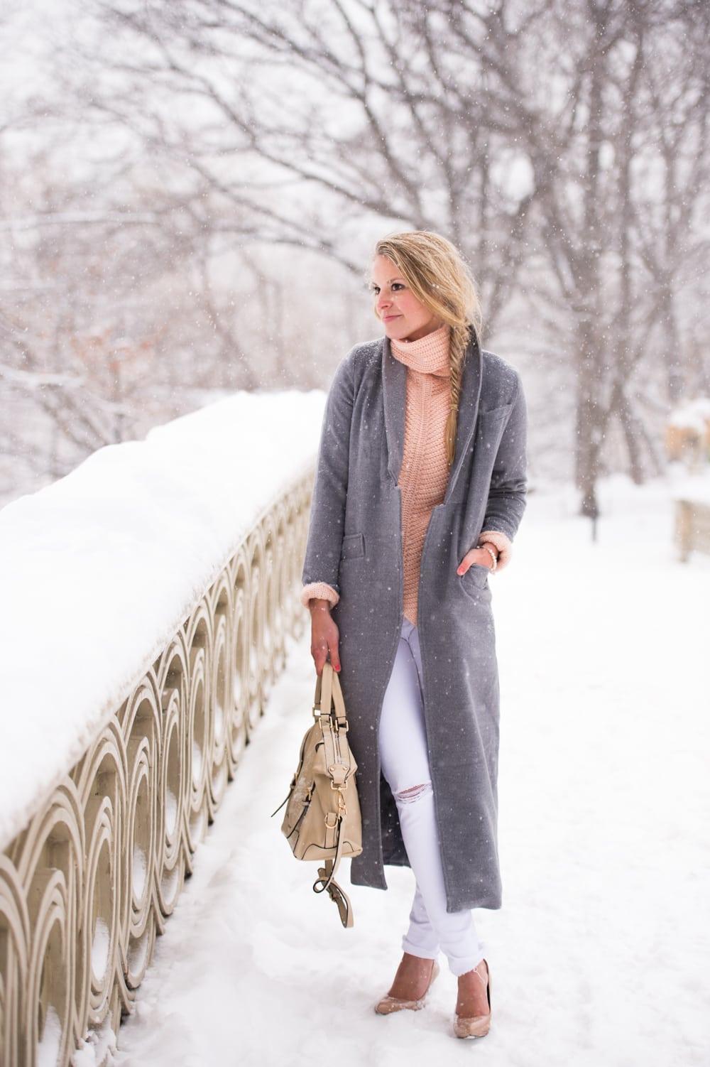Bow Bridge Central Park Styled Snapshots