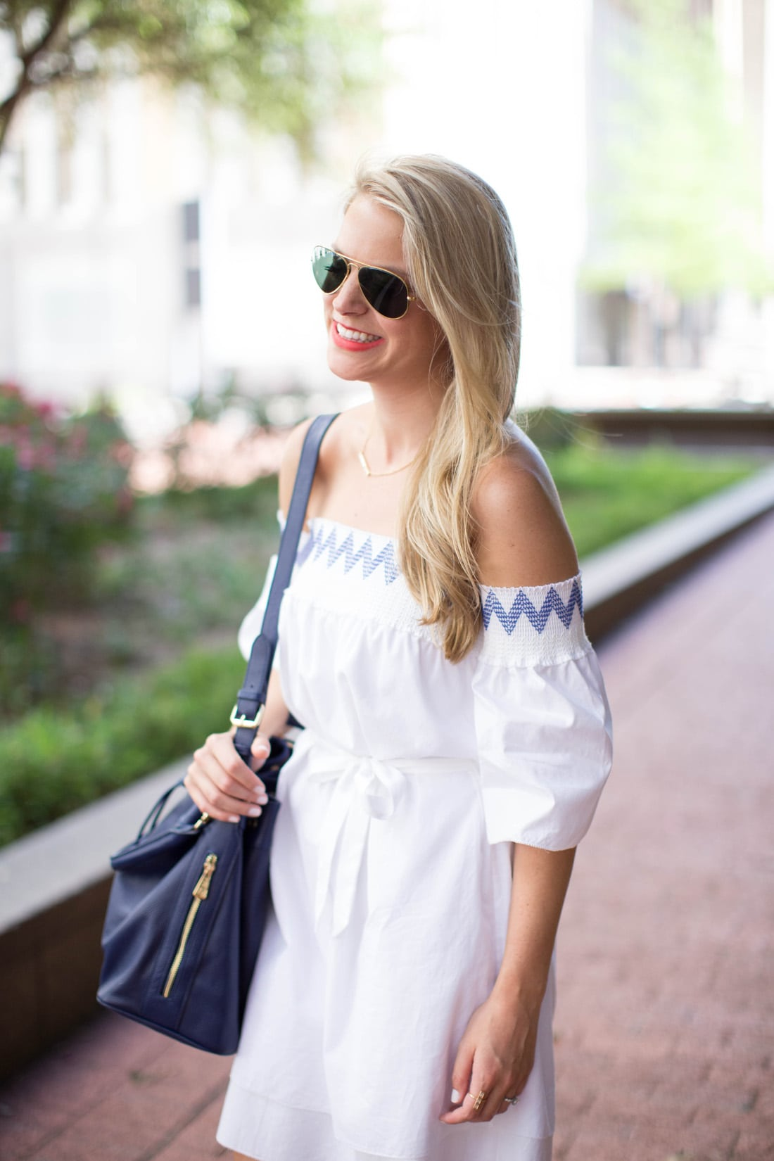 Off The Shoulder Dress Styled Snapshots