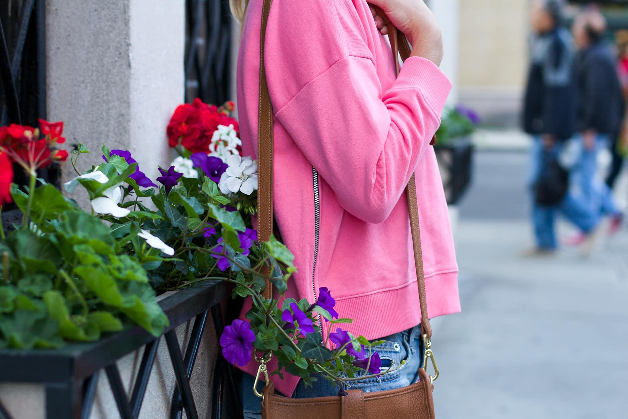 zipper sweatshirt