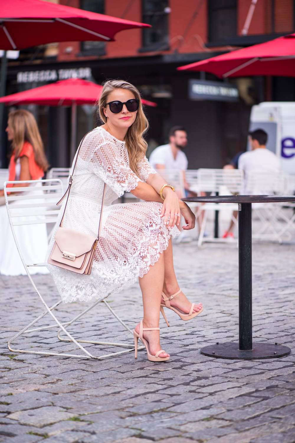 crochet dress, meatpacking nyc, styled snapshots