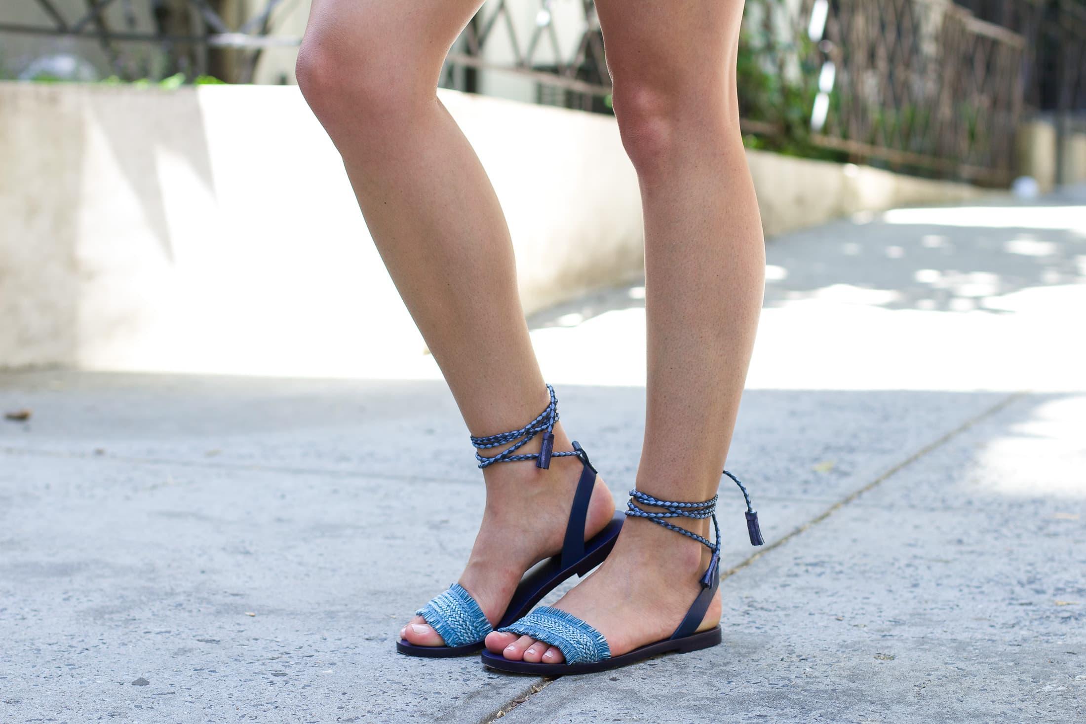 Tassel Sandals, j.crew sandals