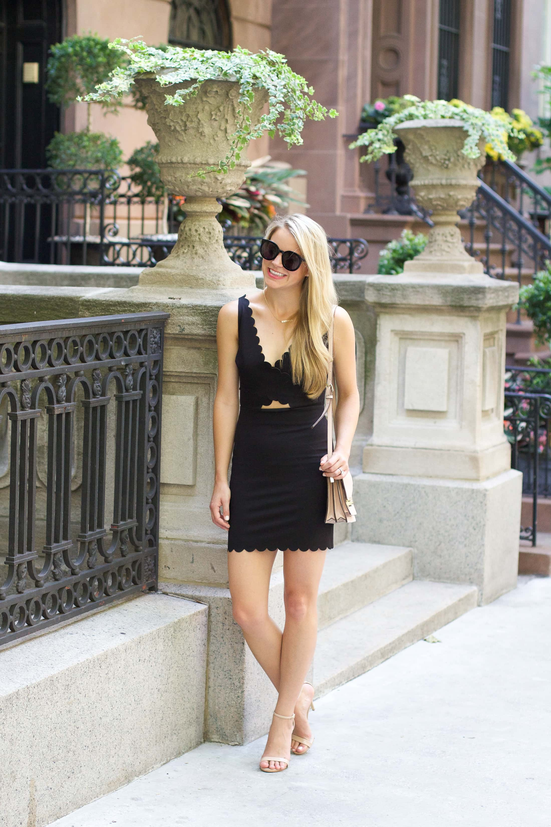 little back dress, styled snapshots