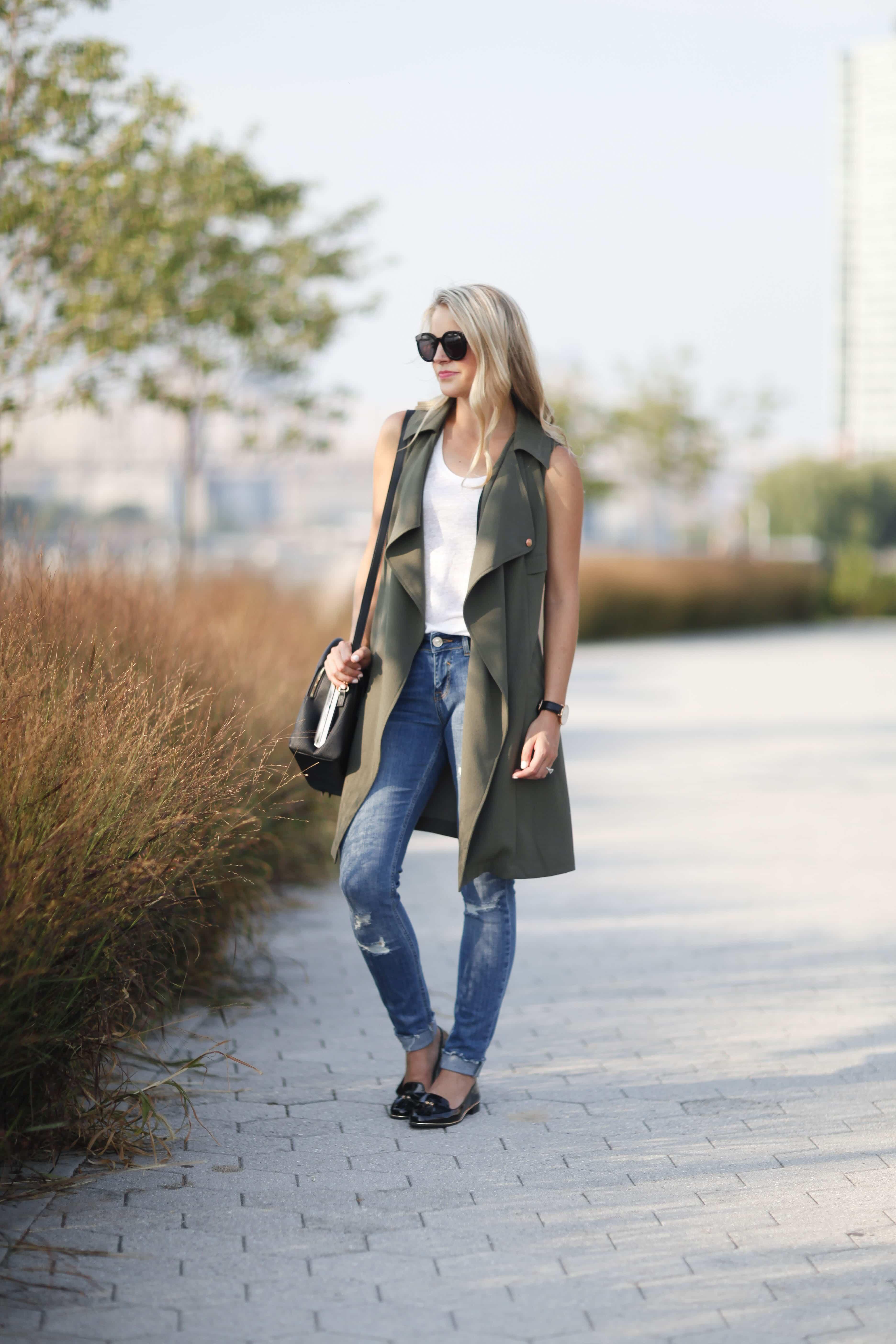 long island city, new york blogger, best skinny jeans