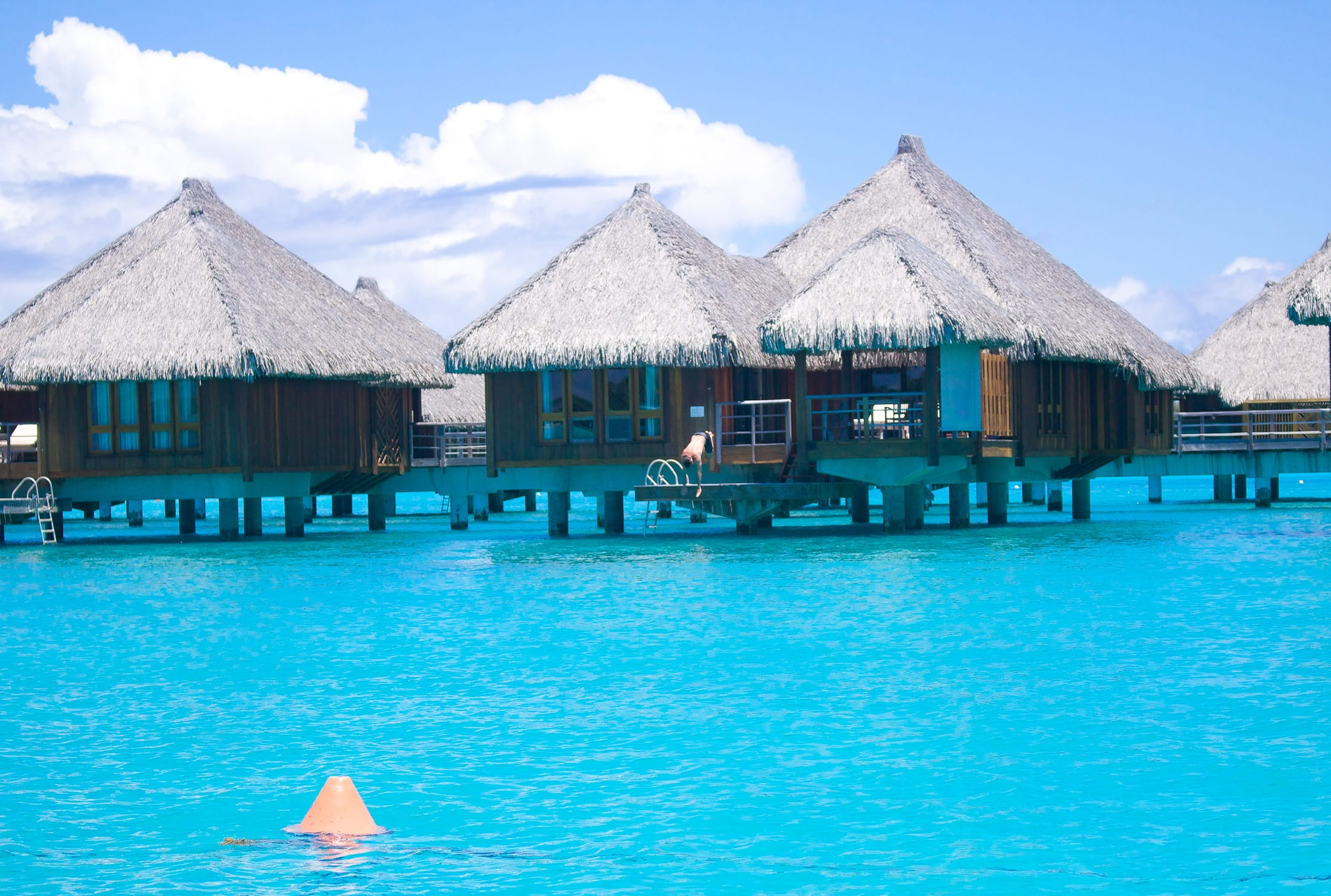 Hut on water