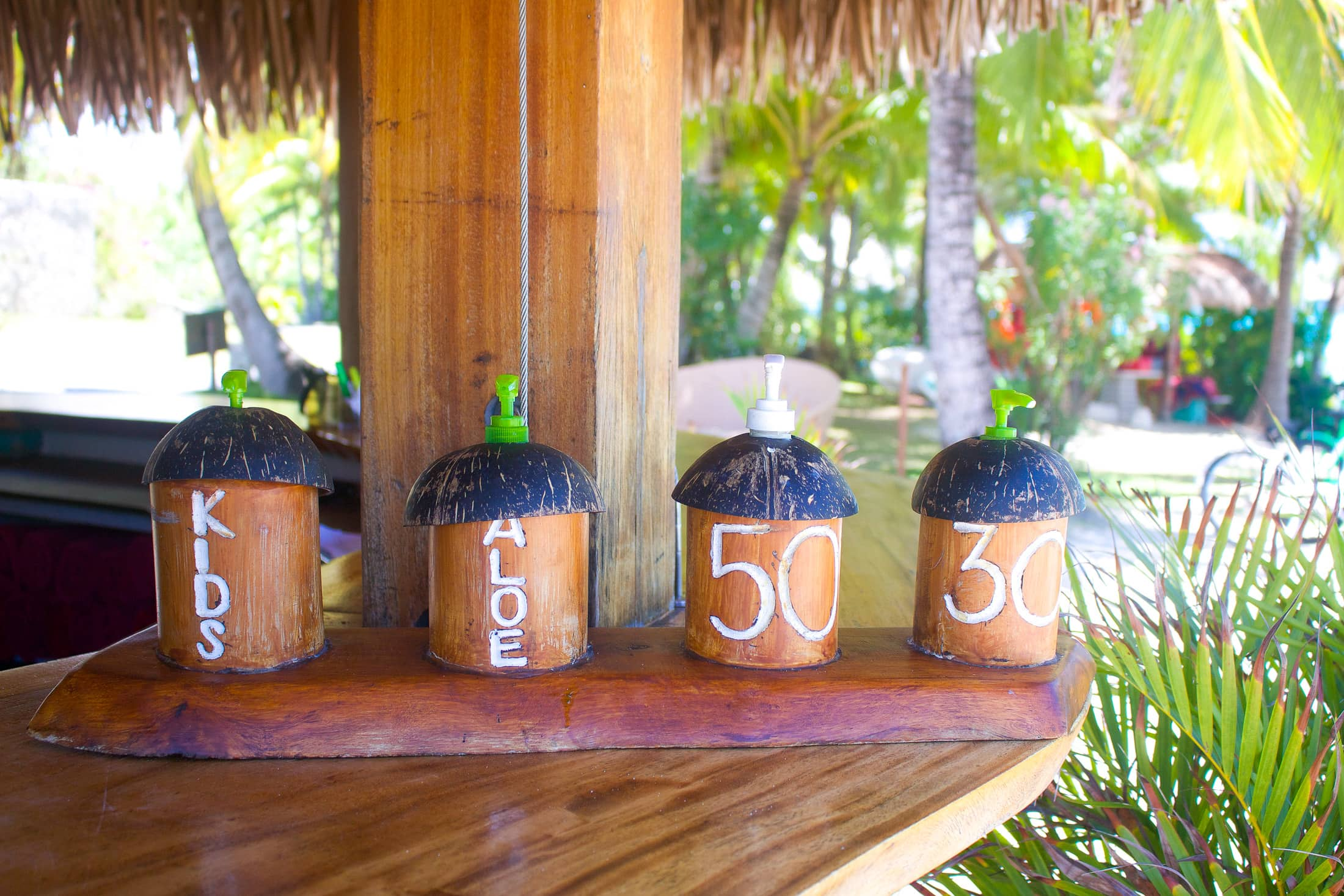 coconut sunblock
