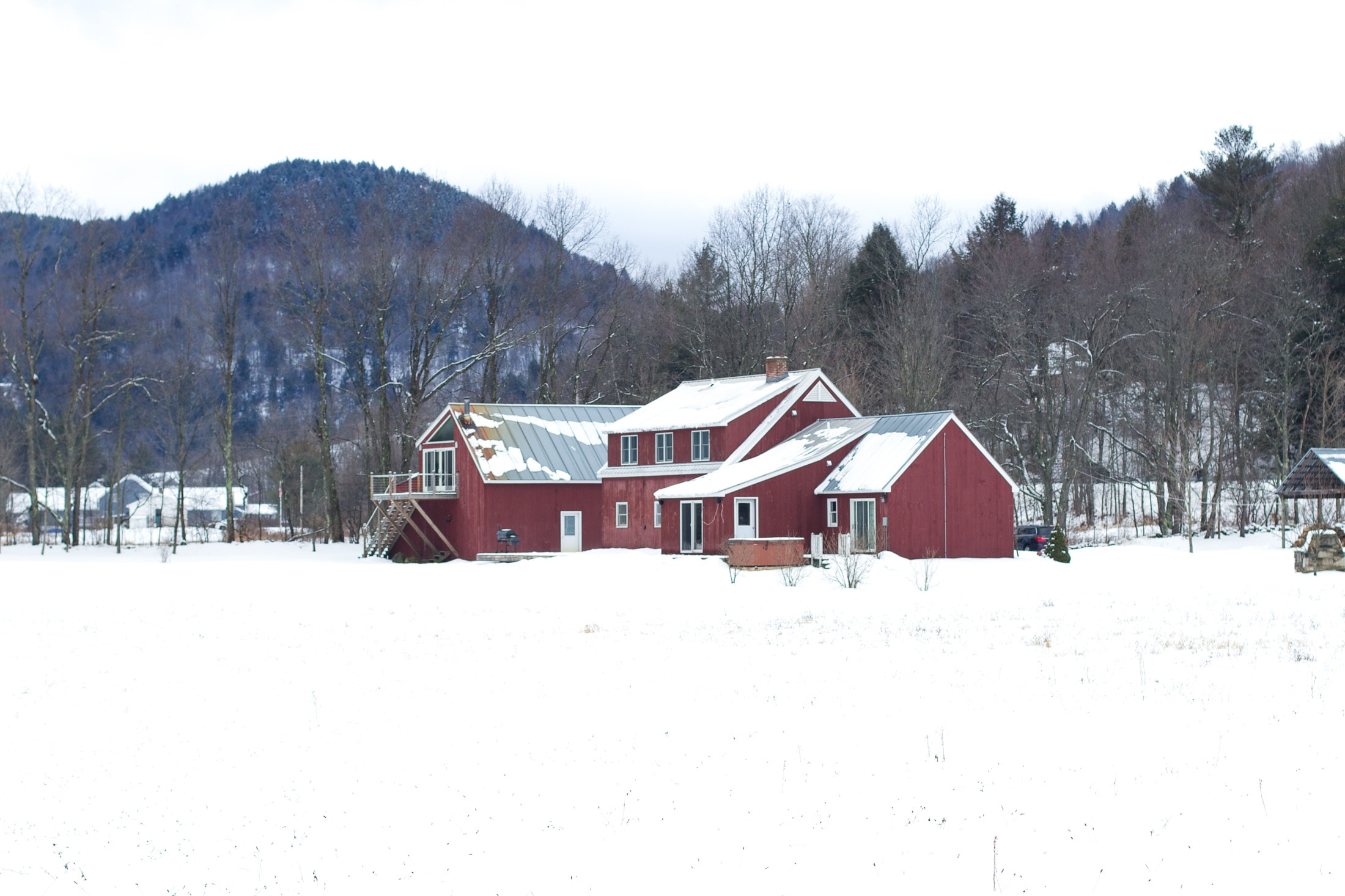 farmhouse, killington vermont, ski vacation