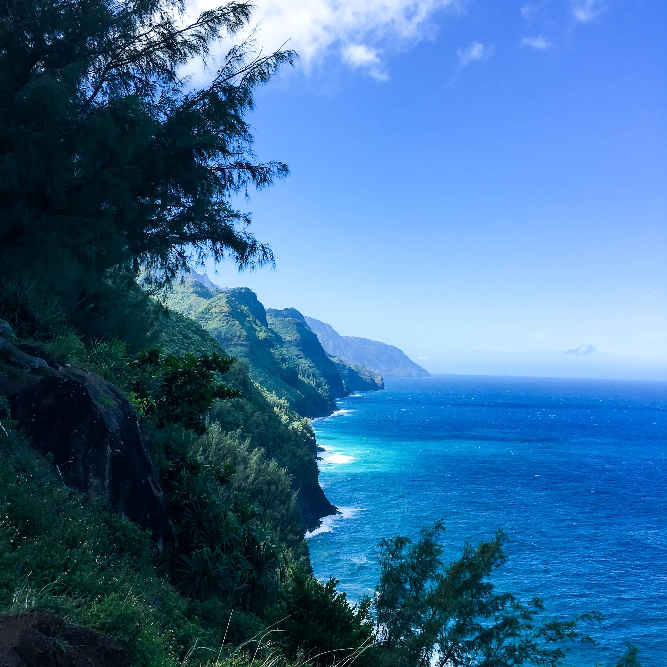 hiking in hawaii'