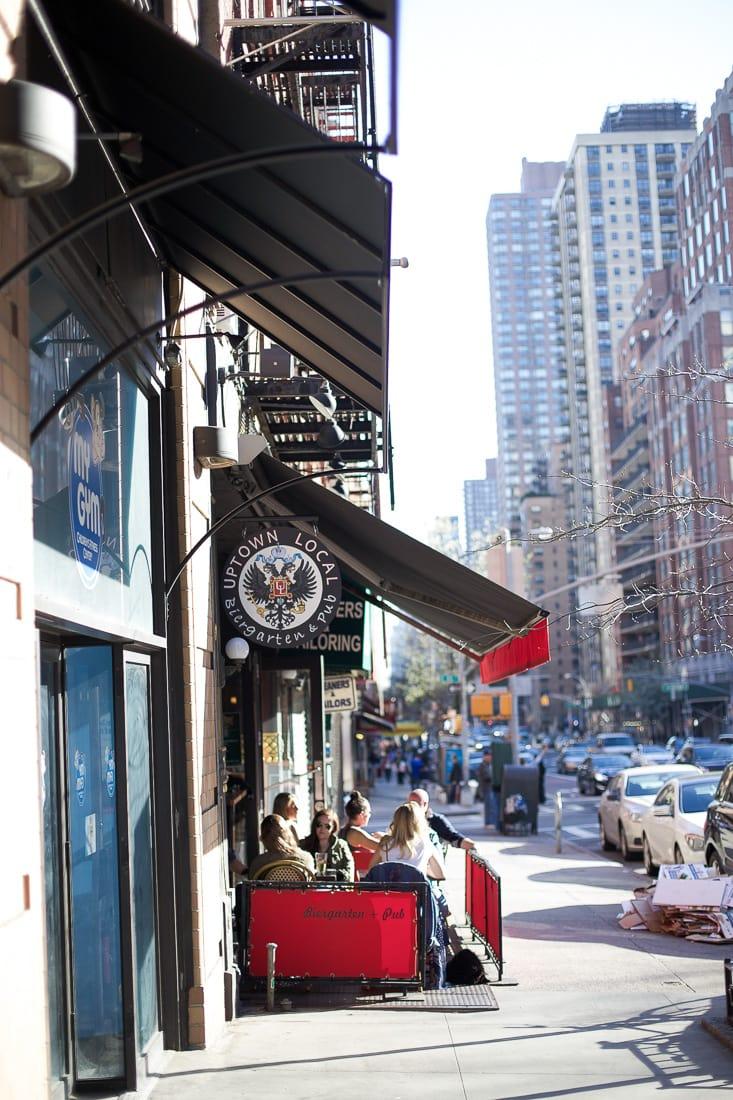 Uptown Local, Upper Eastside, New York City, Outdoor restaurants