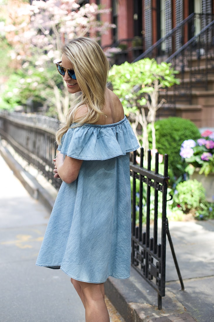 spring dresses, styled snapshots