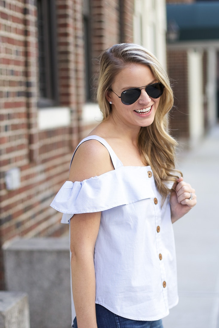9261953711c0c2 off the shoulder top - Styled Snapshots
