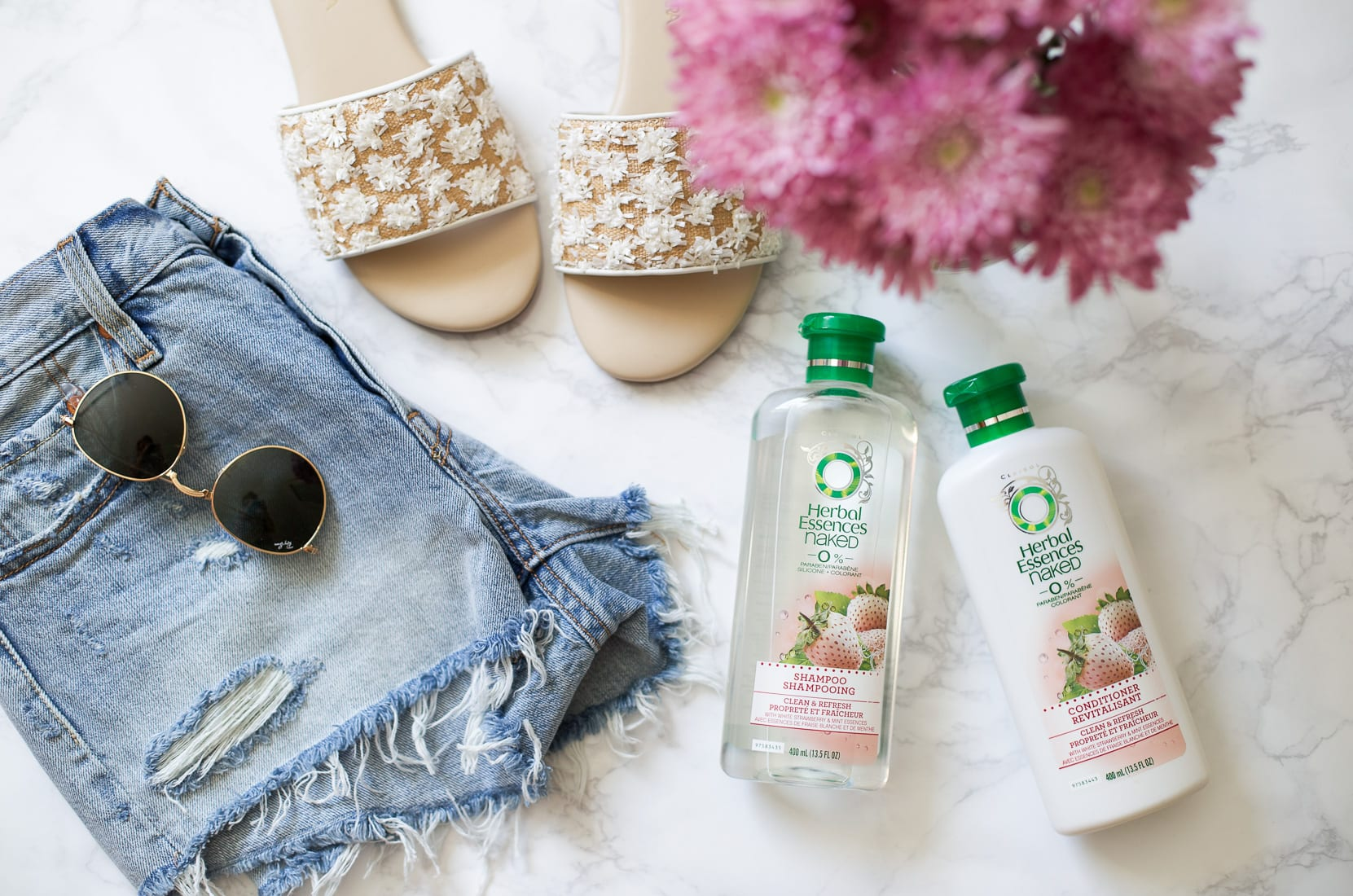 Herbal Essence Naked Shampoo