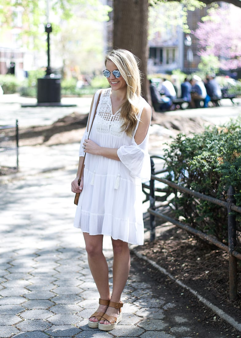 french connection dress, kendall kremer