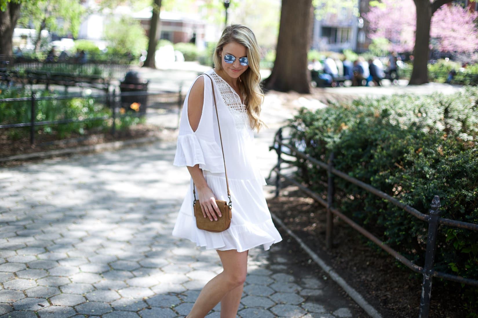 little white dress, castaway lace gypsy tunic dress