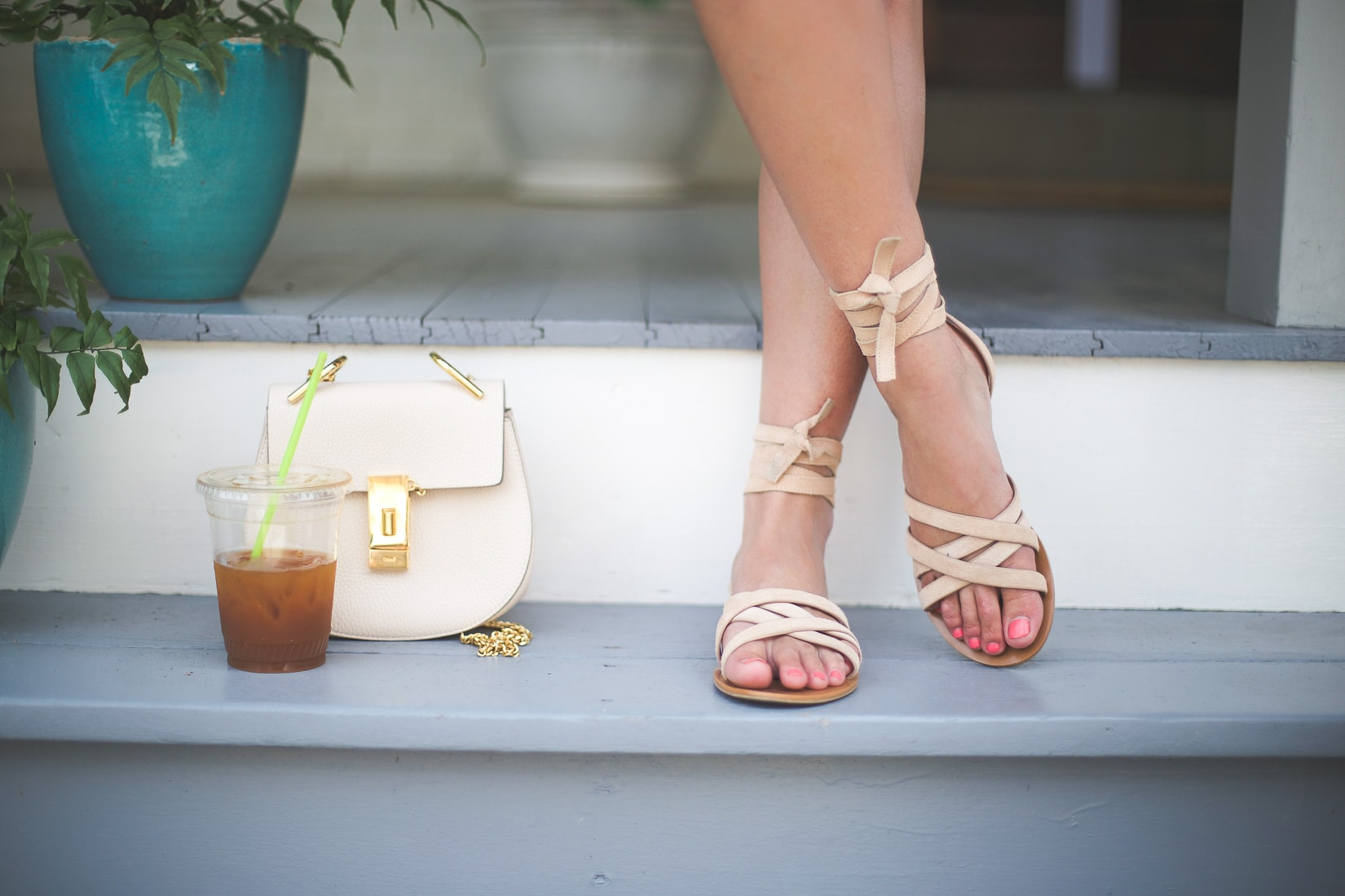 willow gladiator sandal