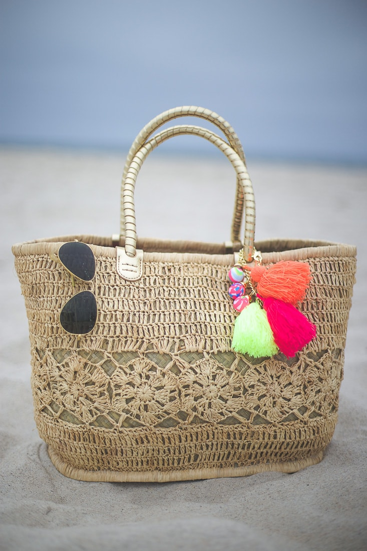lilly pulitzer beach tote, Riviera Straw Tote Bag
