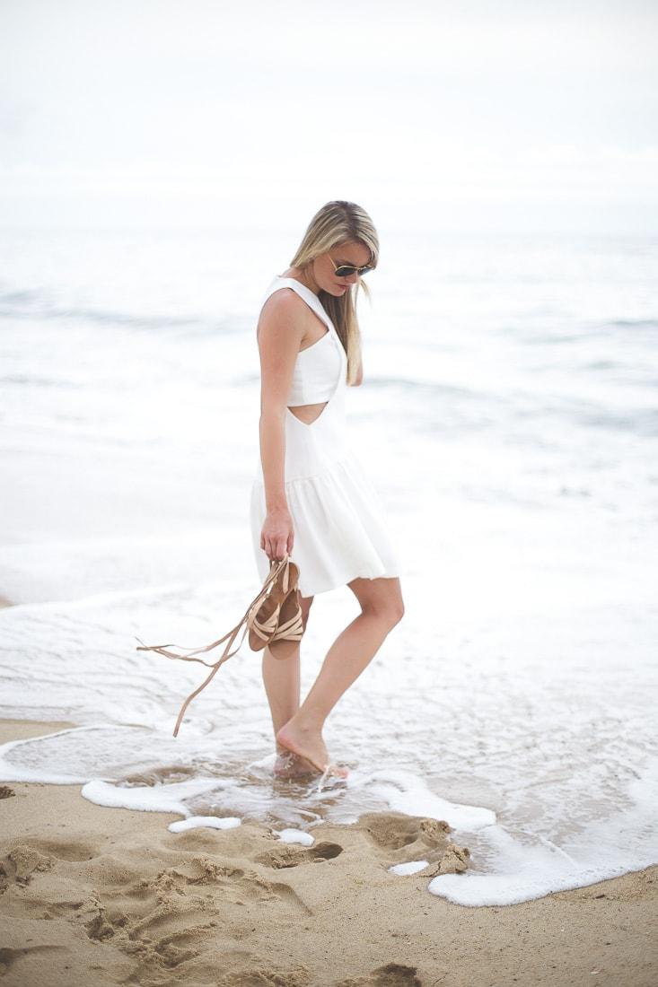 Woven Sleeveless Fit & Flare Dress