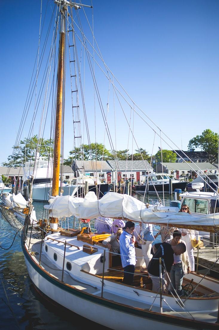 nantucket sailboat cruise