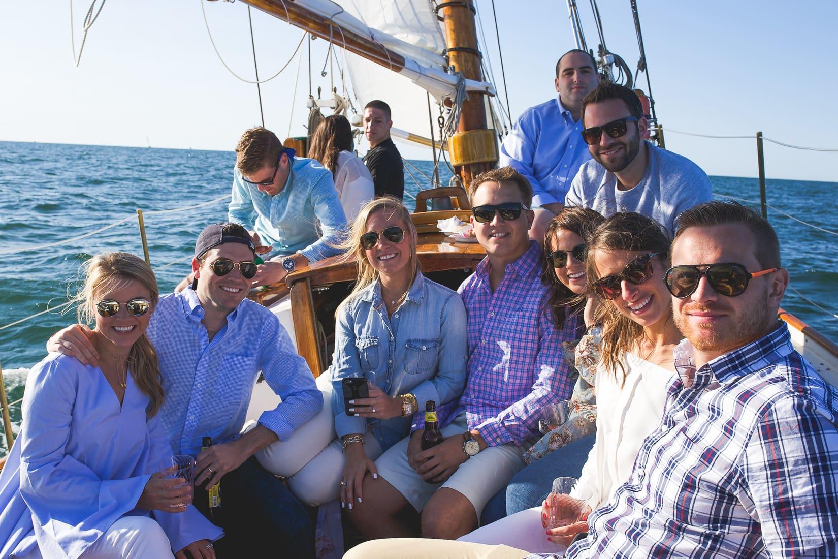 nantucket birthday, sailboat cruise