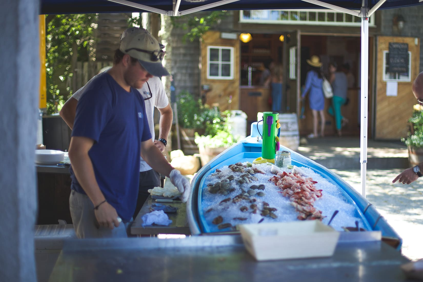 raw bar, seafood, what to do in nantucket