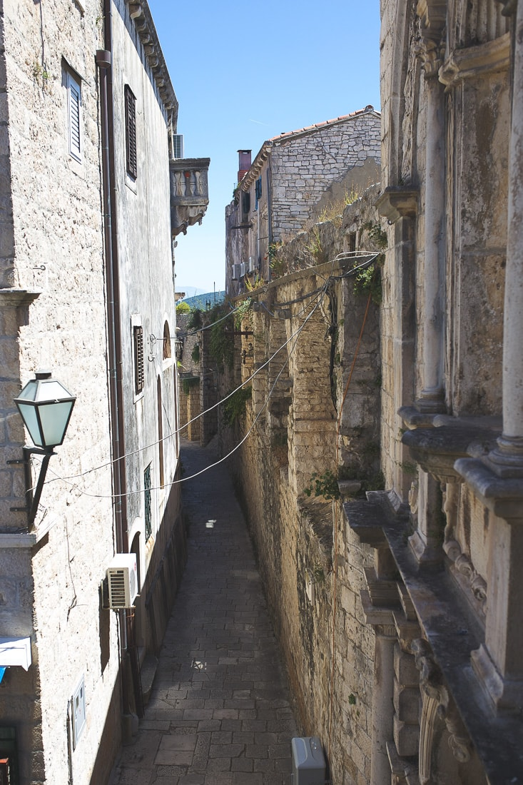 town of korcula