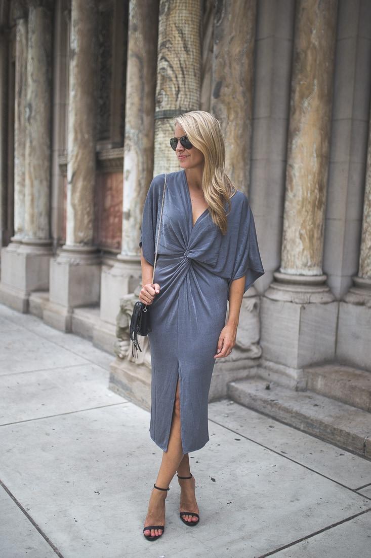missguided Kimono Midi Dress