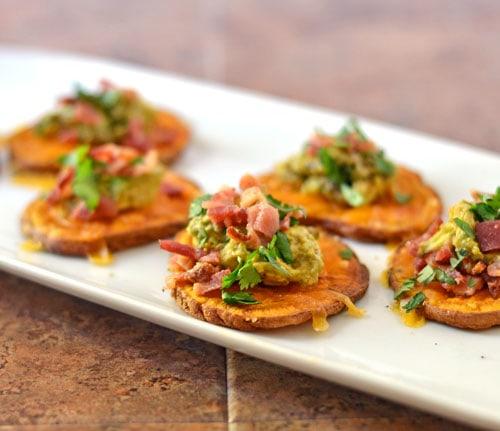 sweet-potato-bites-with-avocado-and-bacon