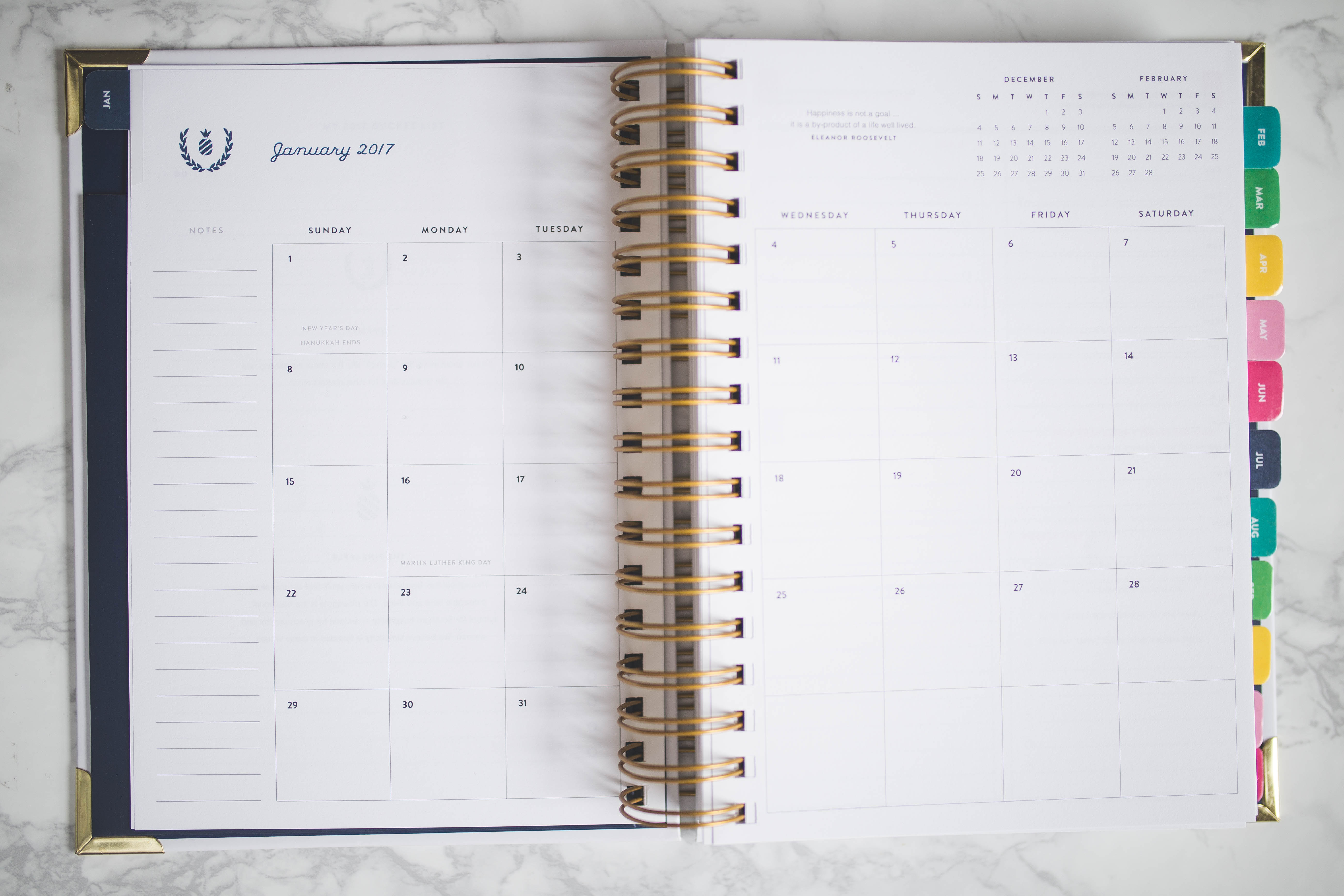 picture relating to Emily Ley Planner called emily ley simplified planner - Styled Snapshots