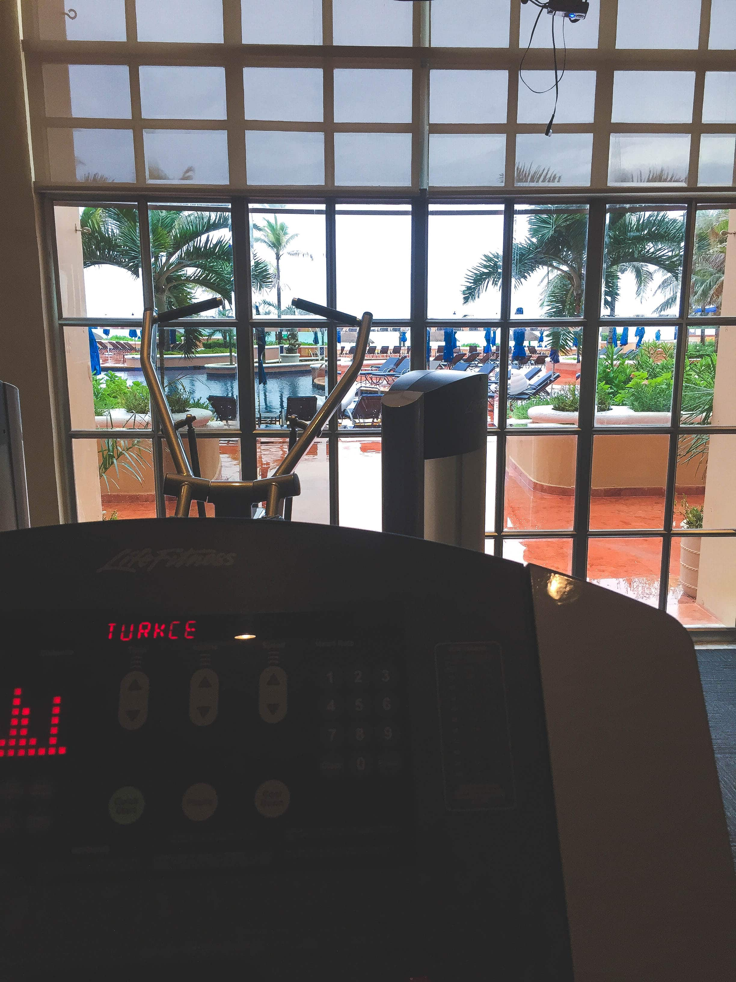 The Ritz Carlton Cancun Gym
