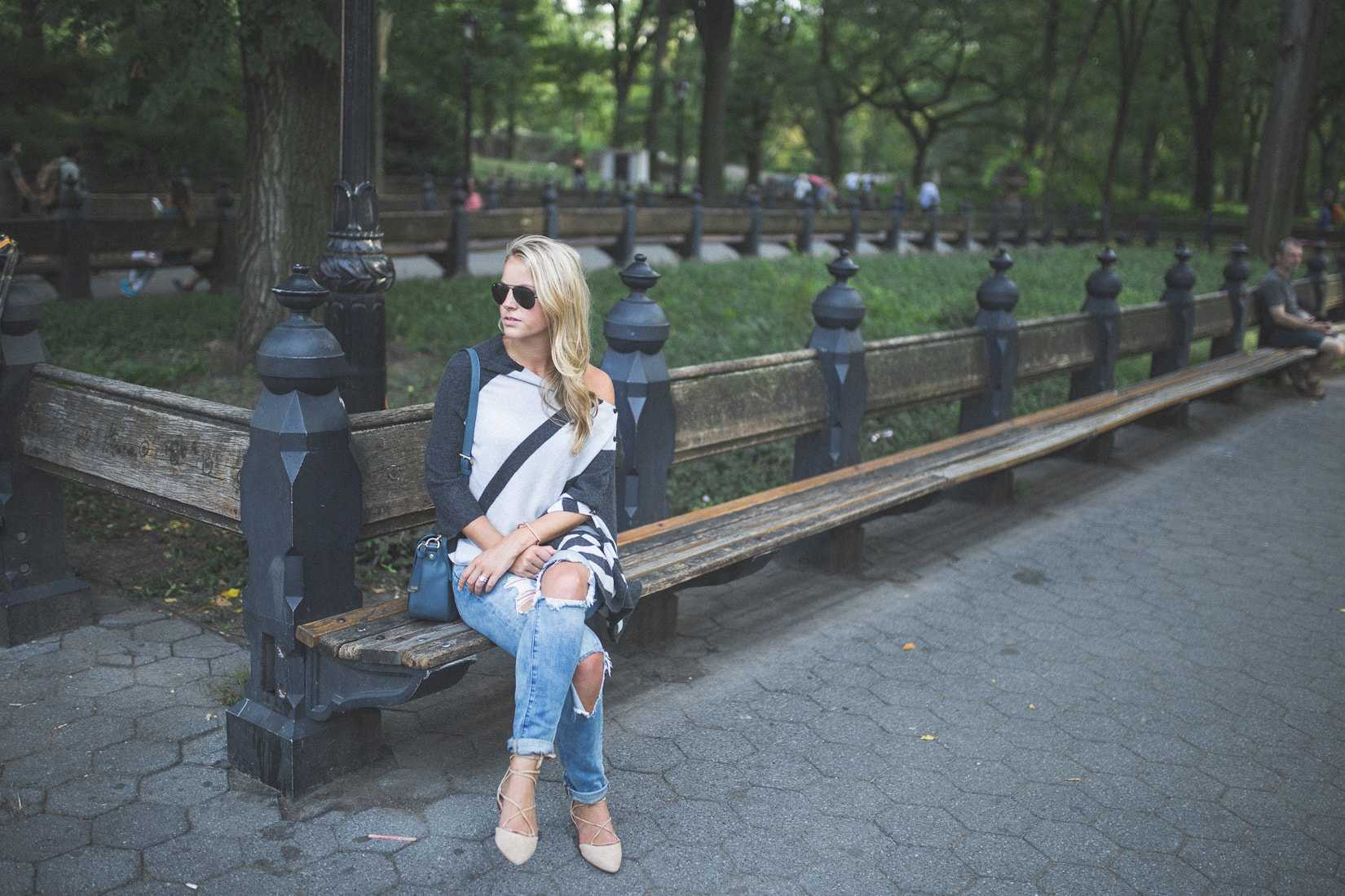 central park, styled snapshots