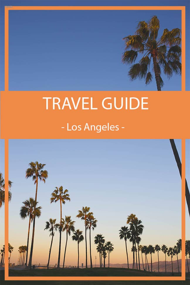 travel guide los angeles