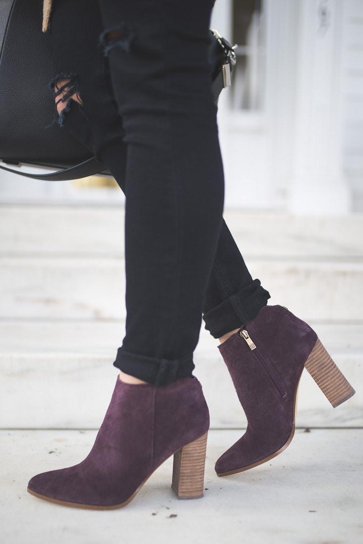 ivanka trump ankle booties