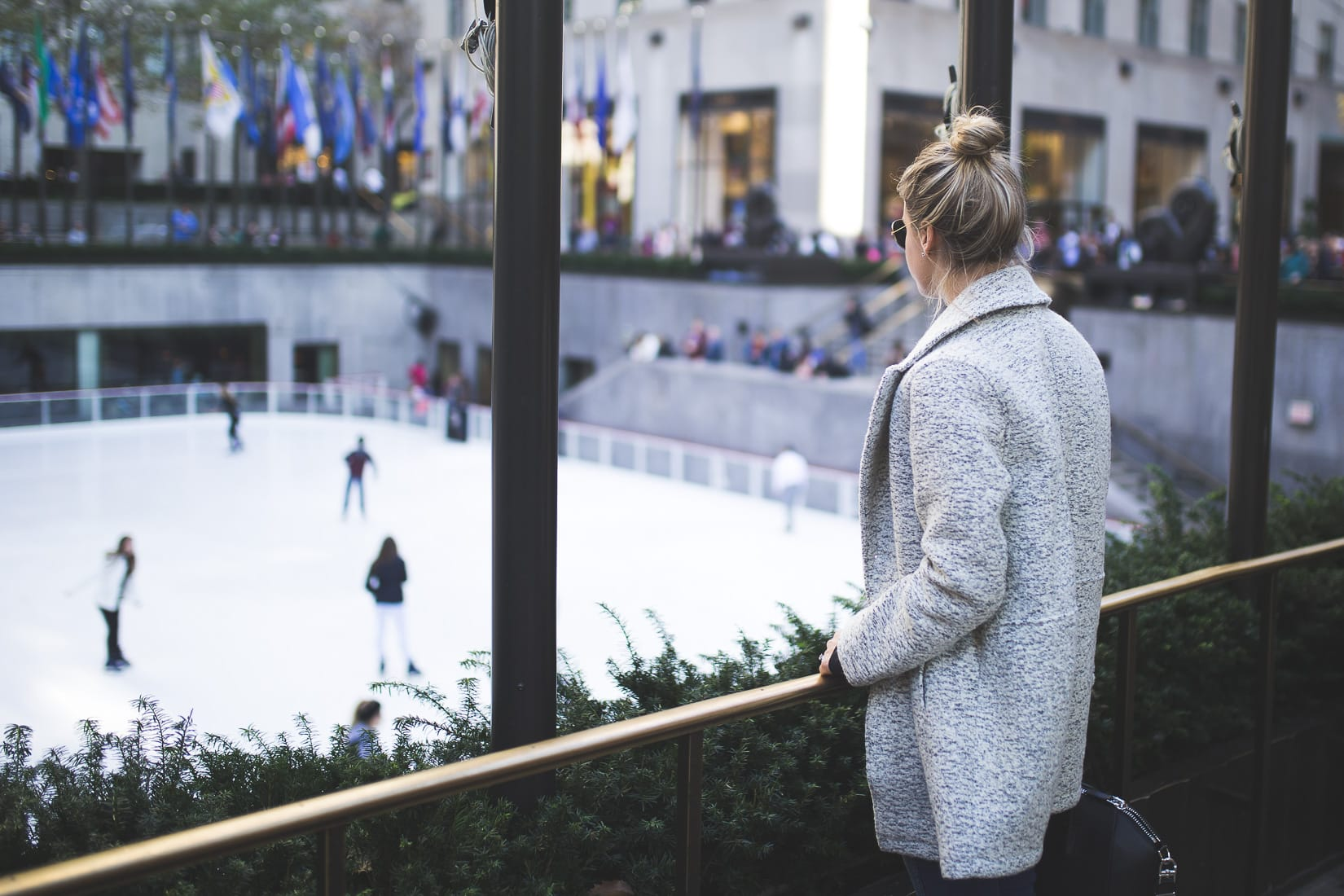 rockefeller ice skaing