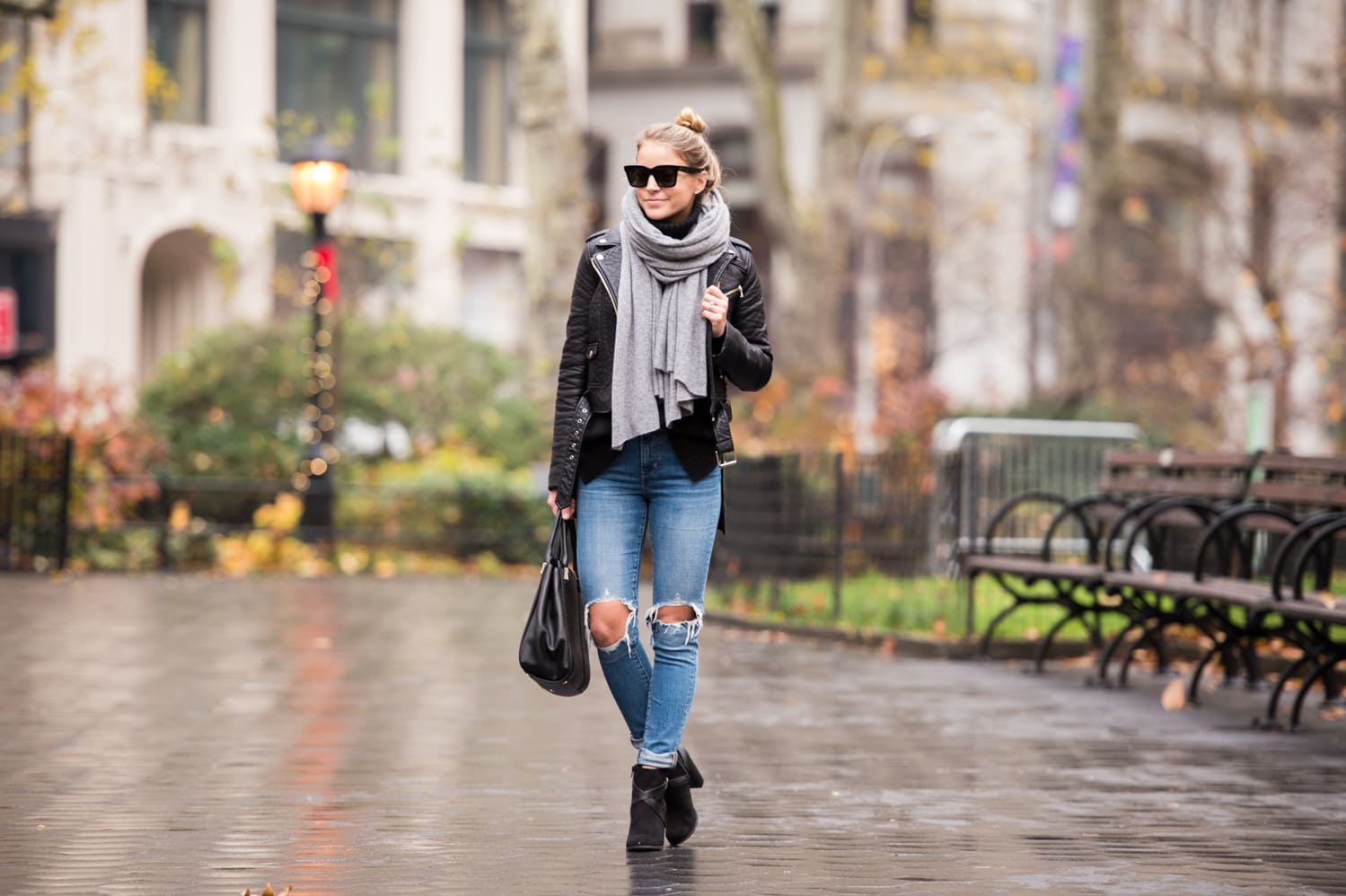 white + warren scarf