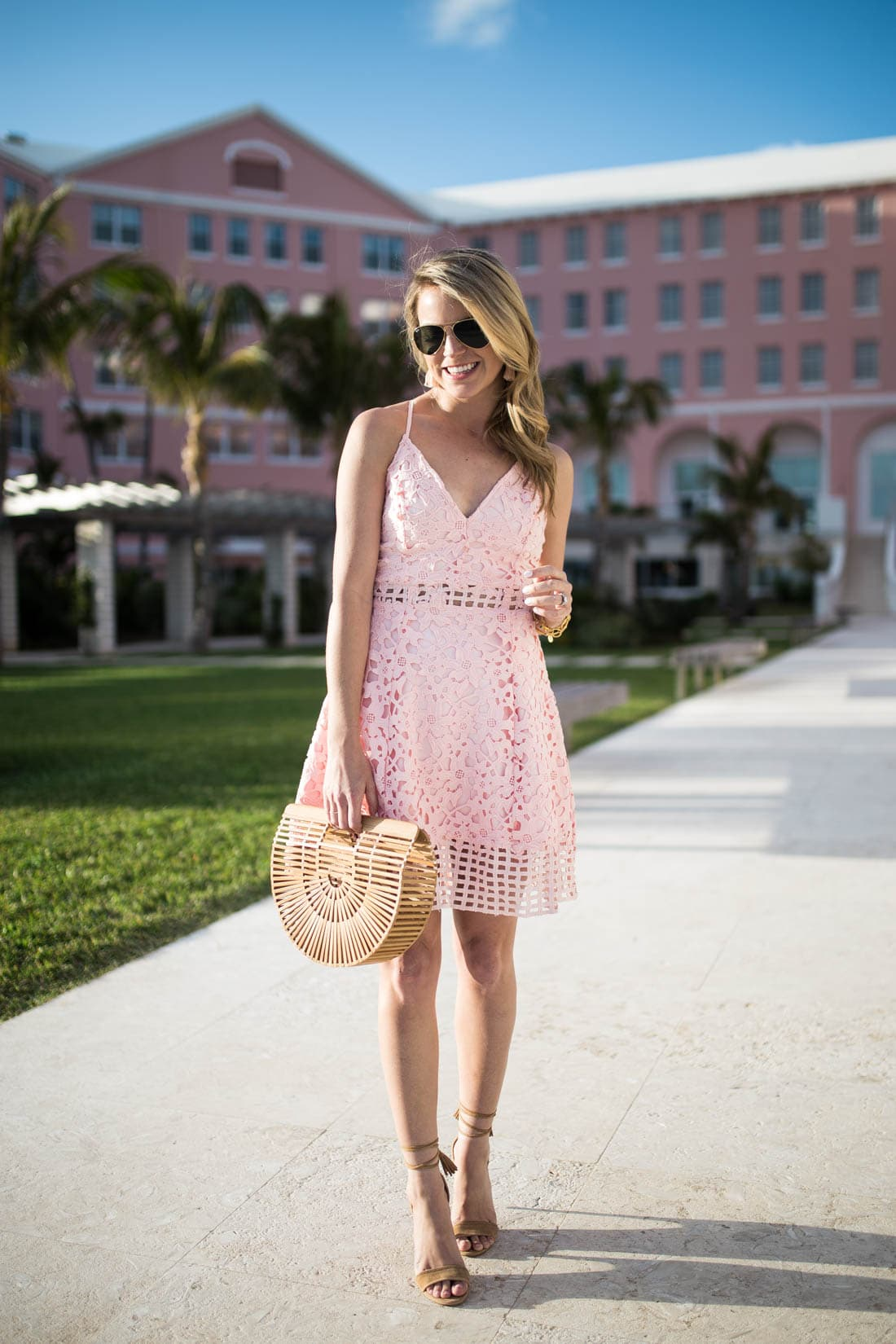 lovers and friends pink dress