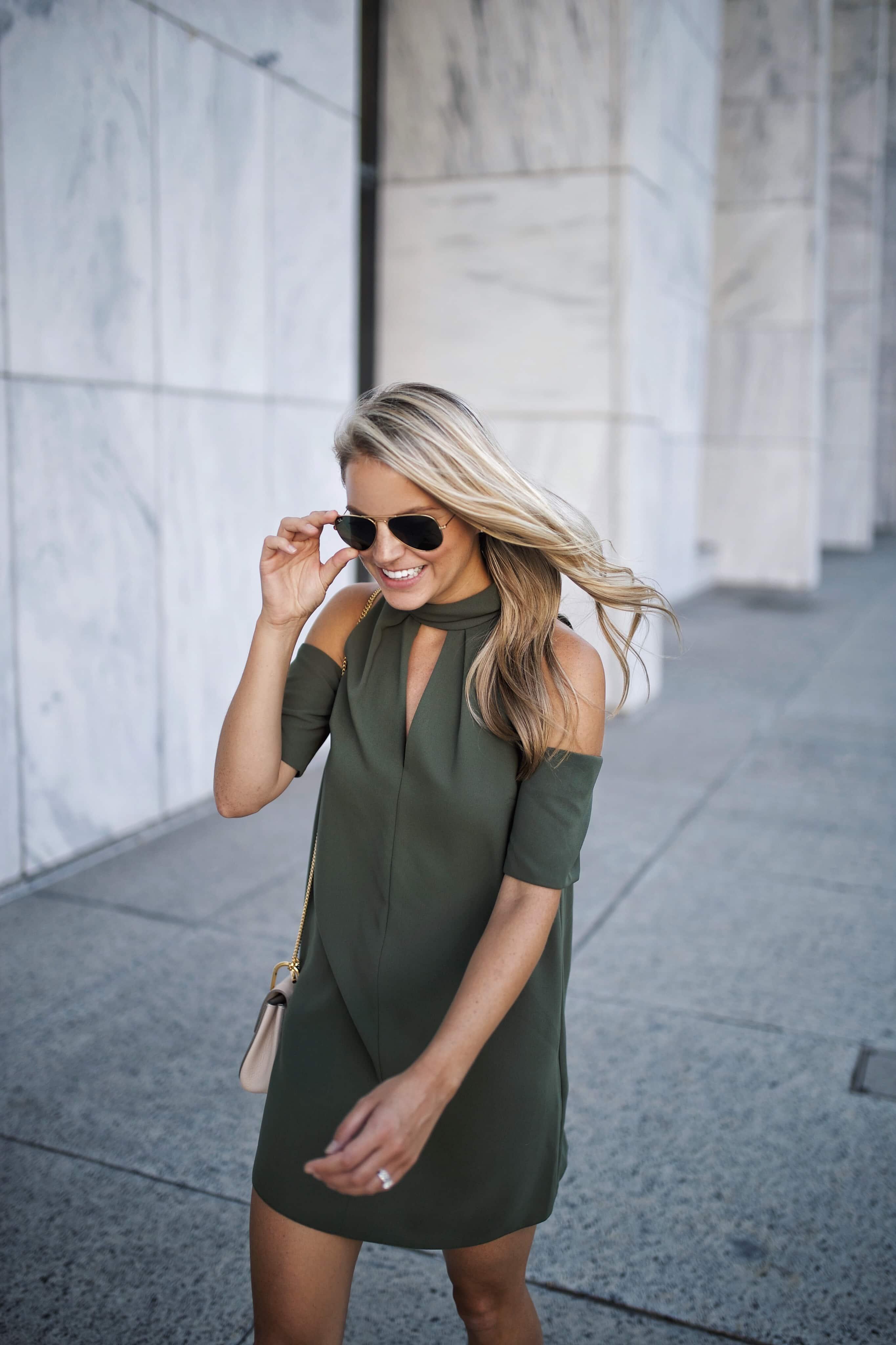 Topshop Keyhole Dress