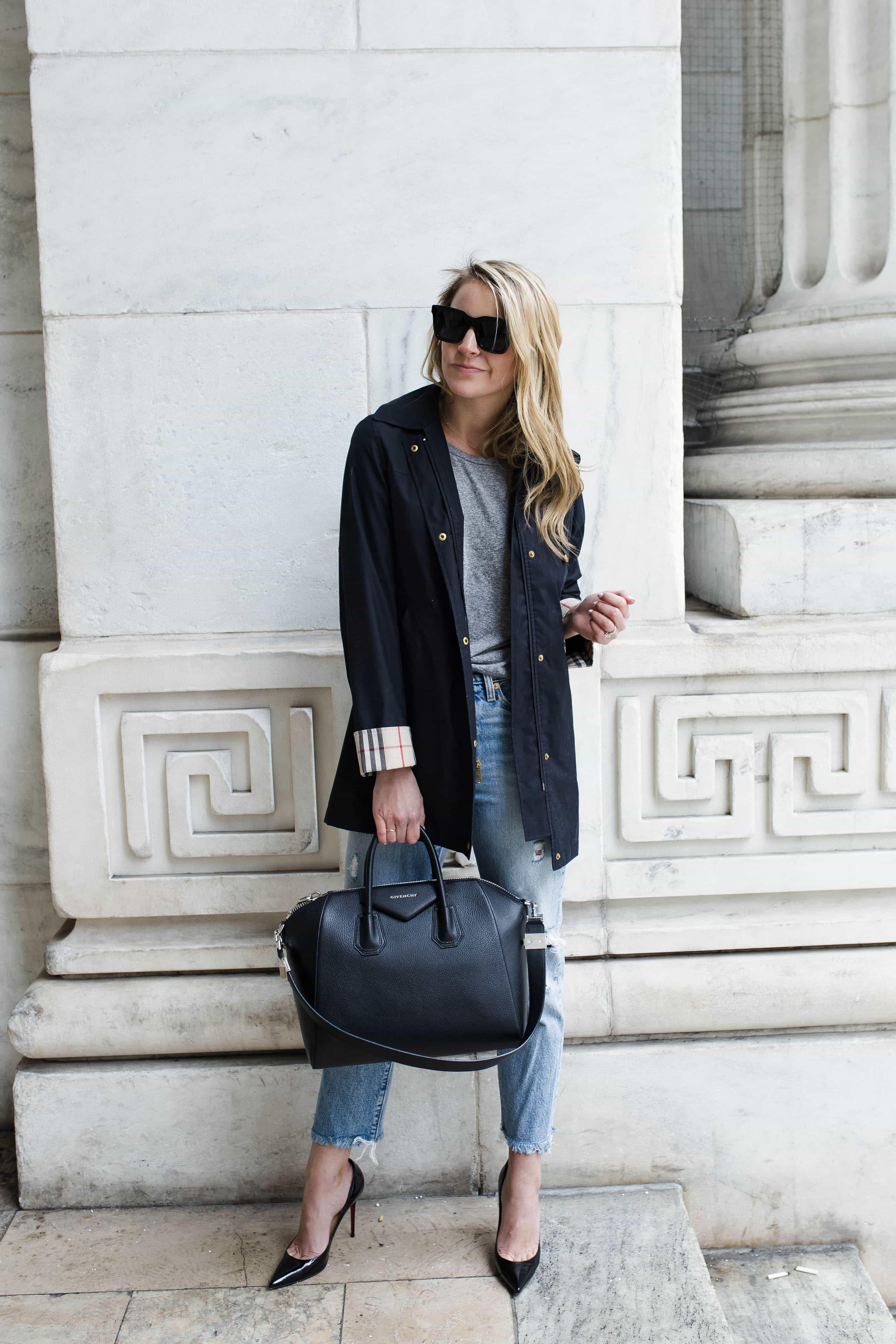 black givency bag