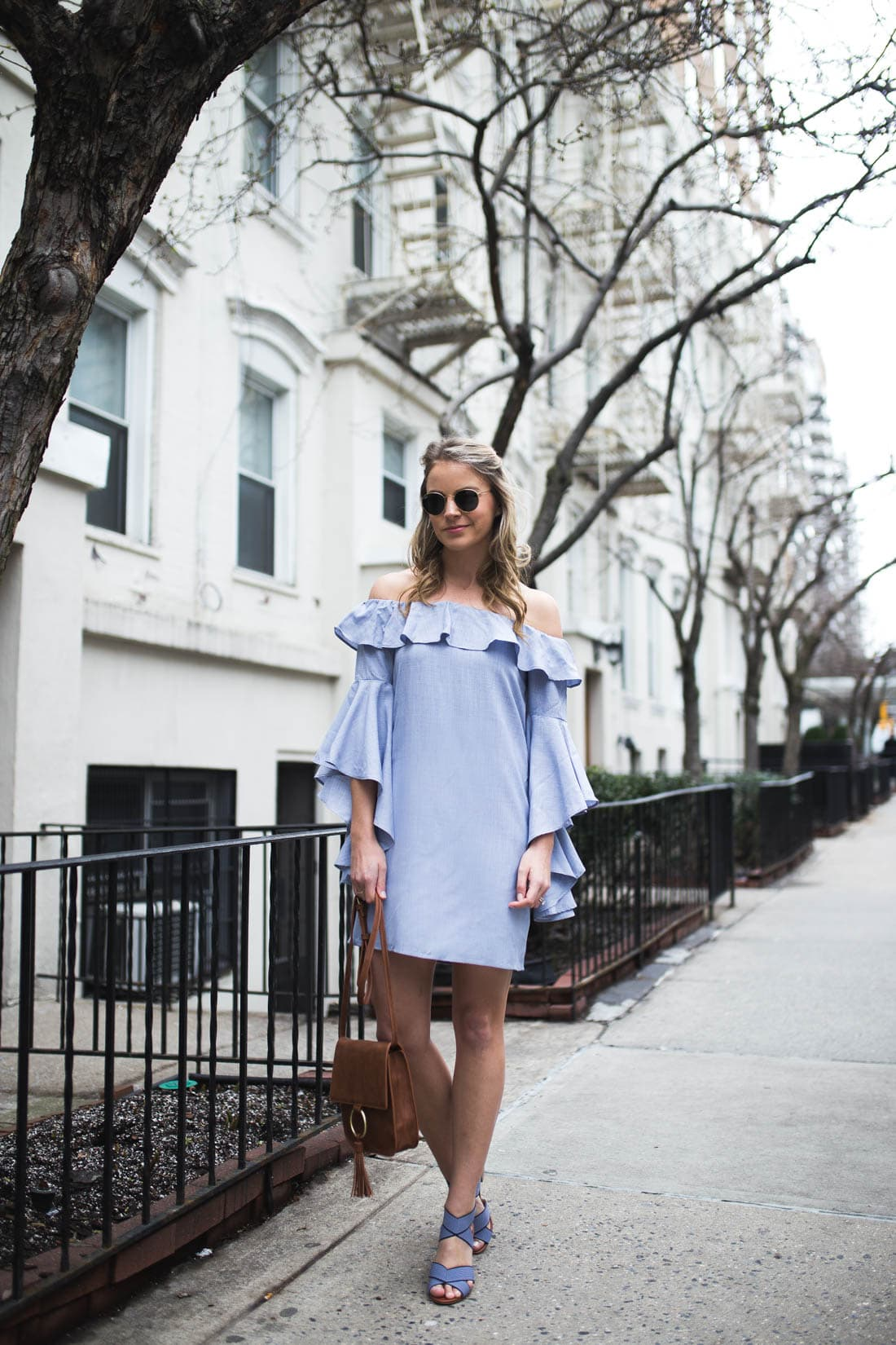 WAYF Chambray Dress