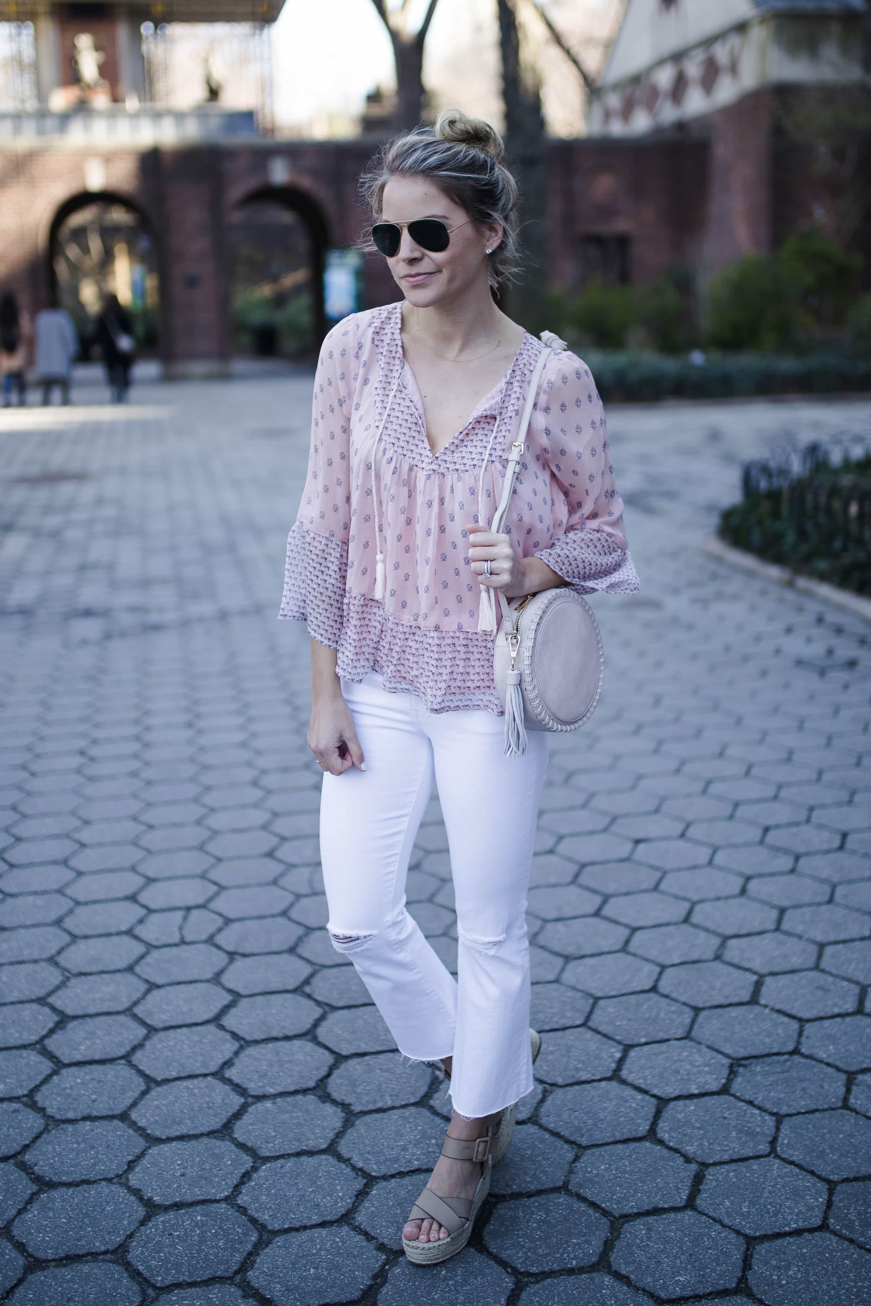 madewell white denim