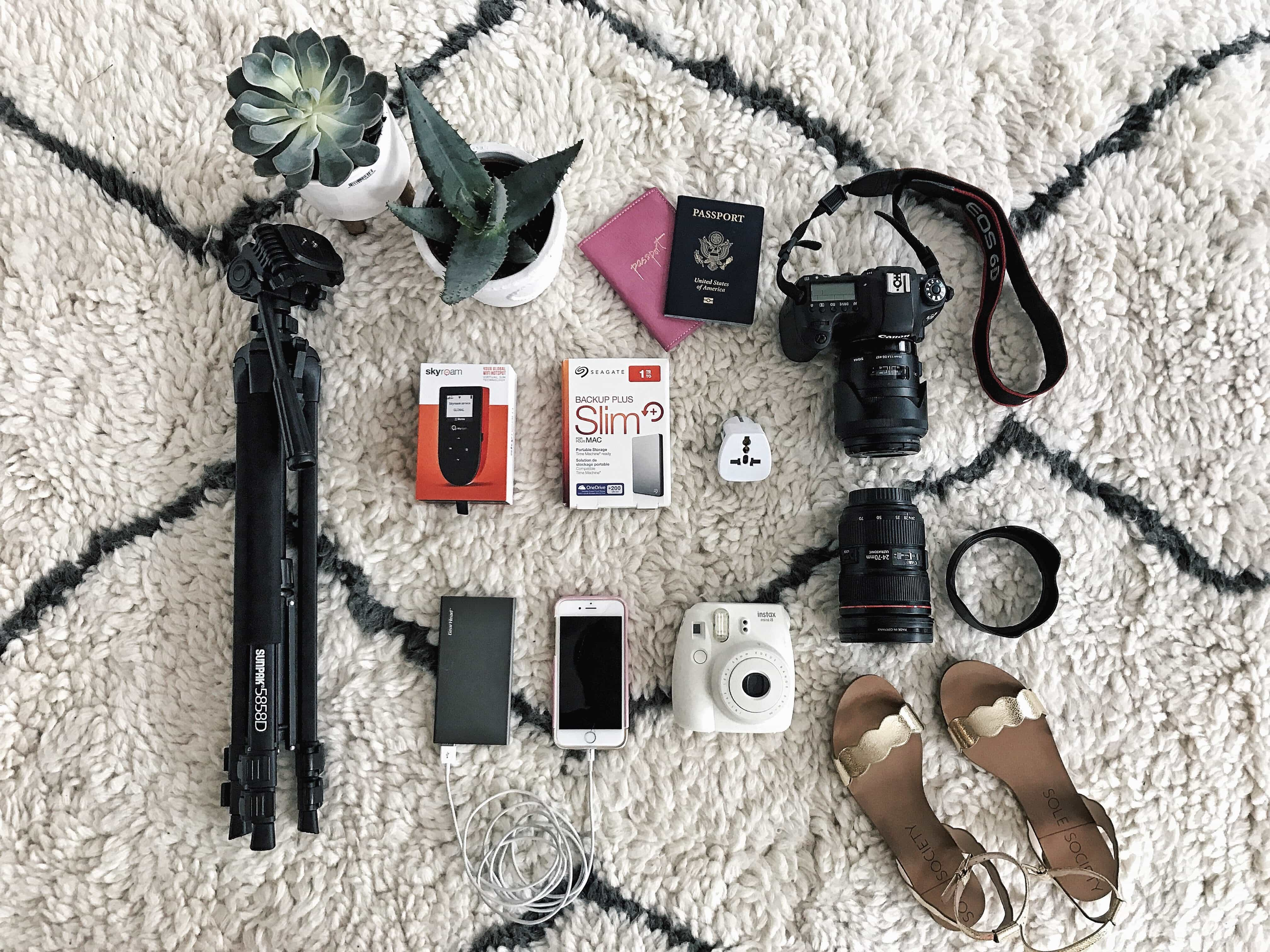 what i pack in my camera bag