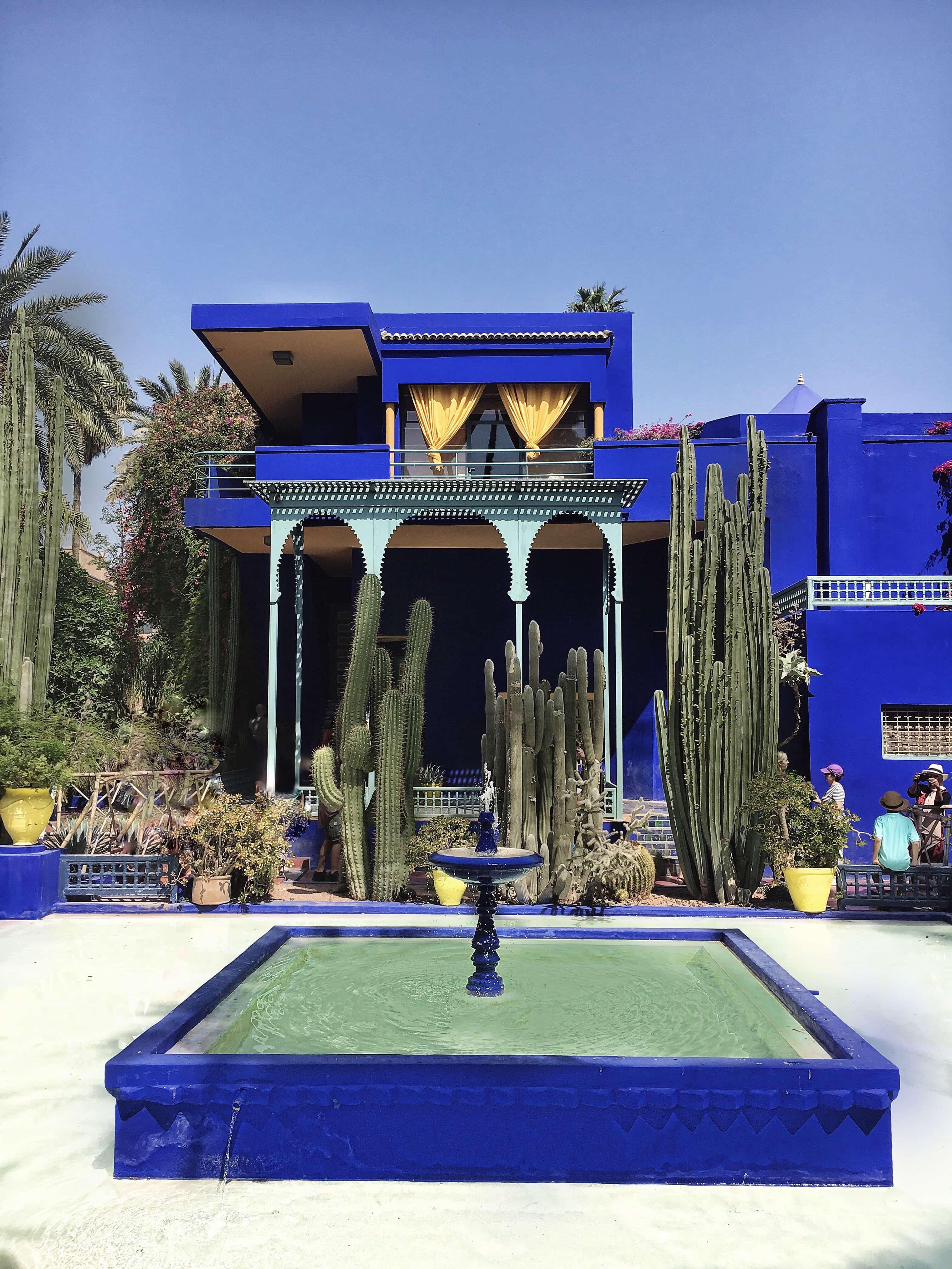 yves saint laurent garden marrakesch