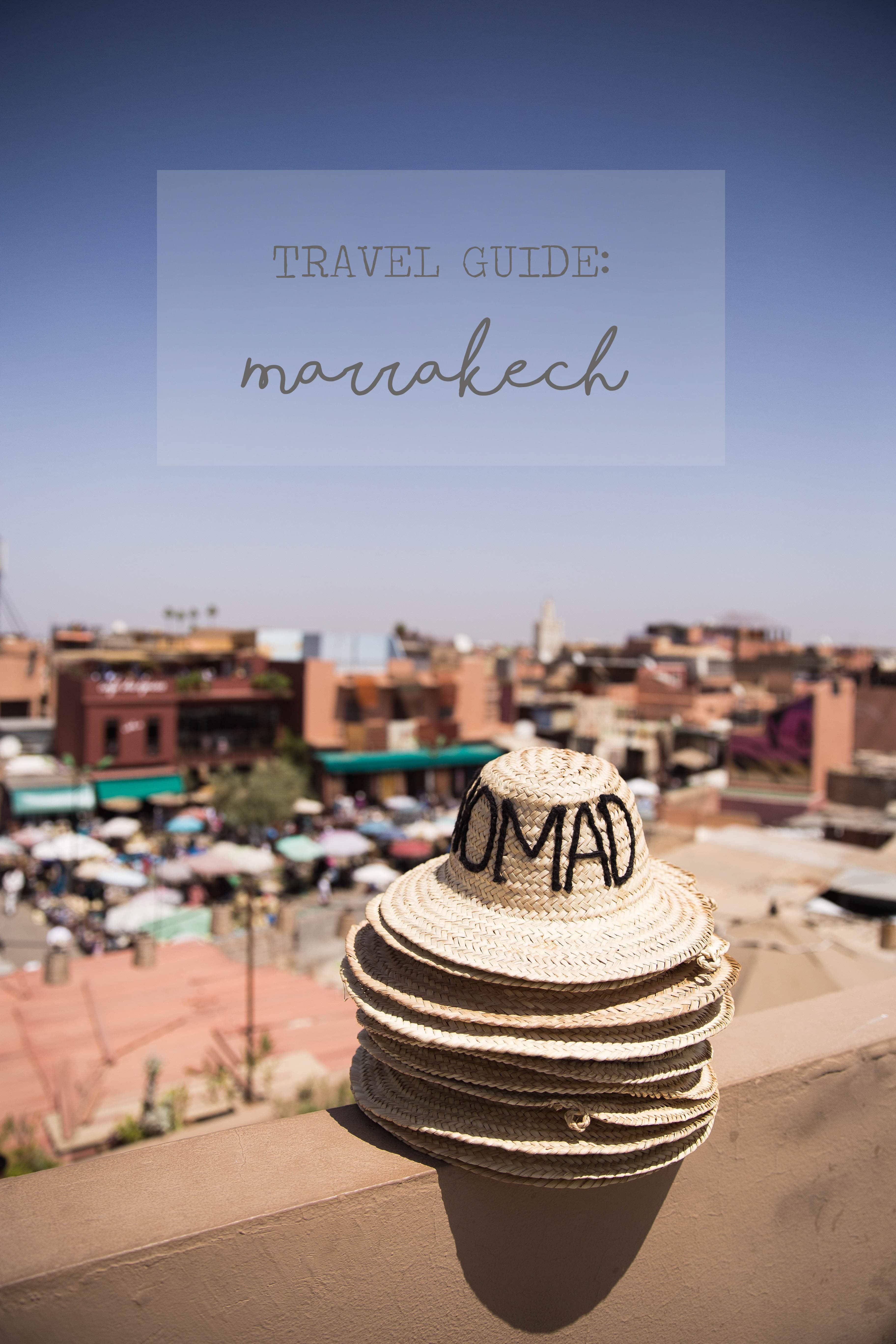 Travel Guide Marrakech