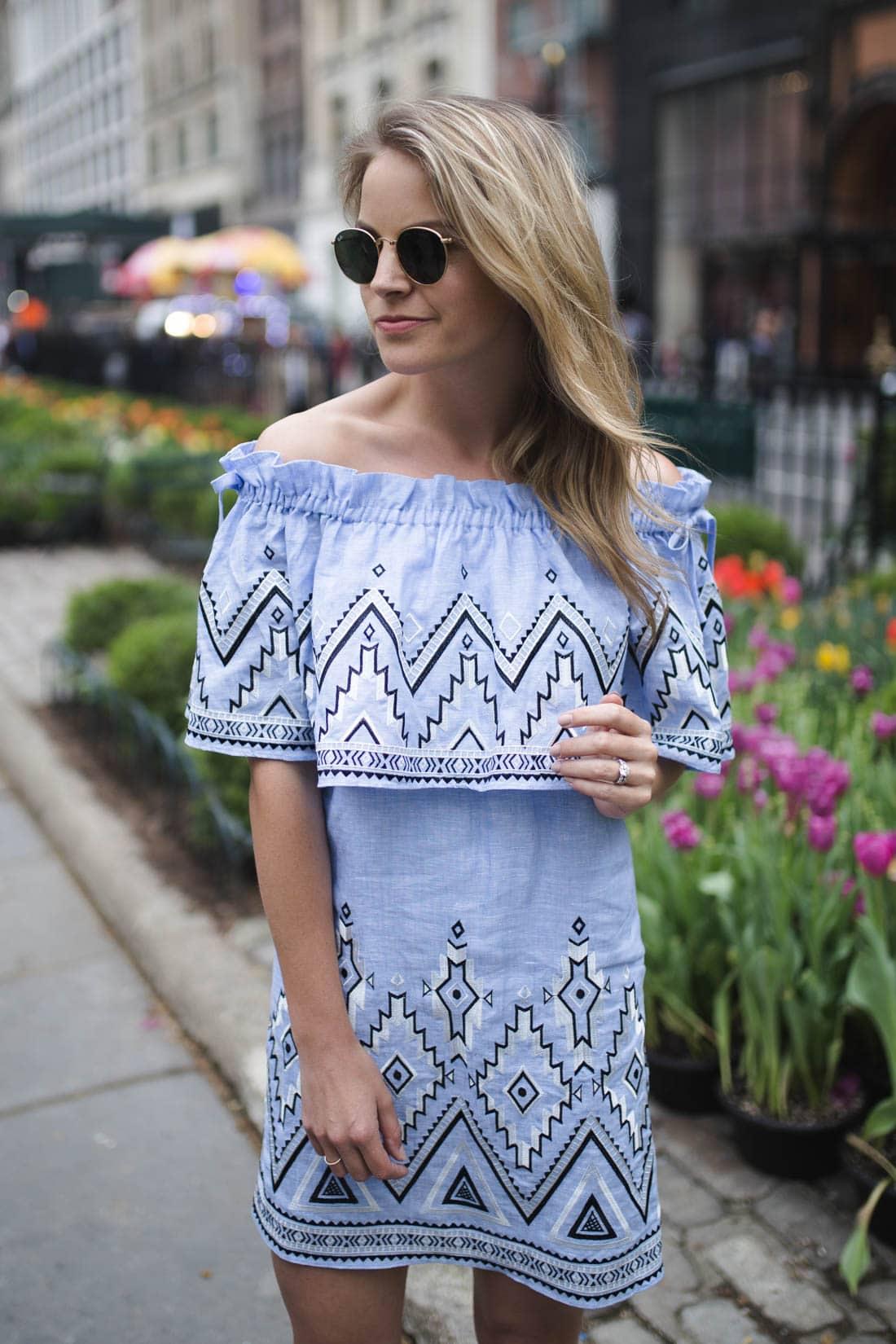 Parker Susie Off-The-Shoulder Dress
