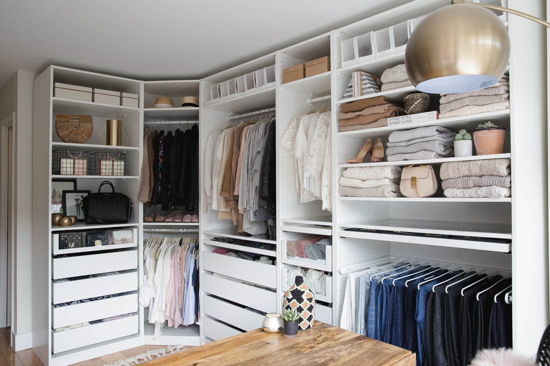 My Closet Office Reveal Styled Snapshots
