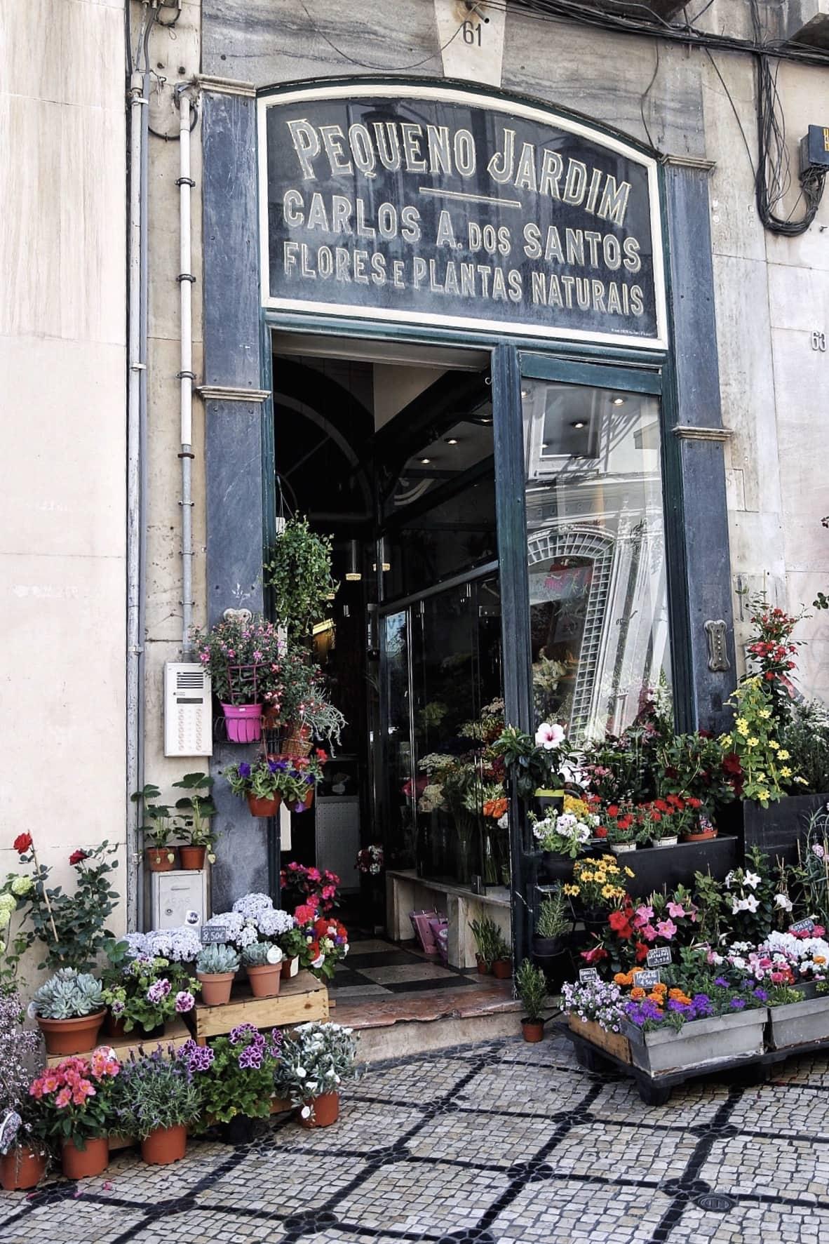 Lisbon Flower Market