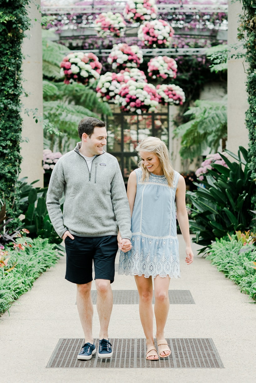 longwood gardens couple photos
