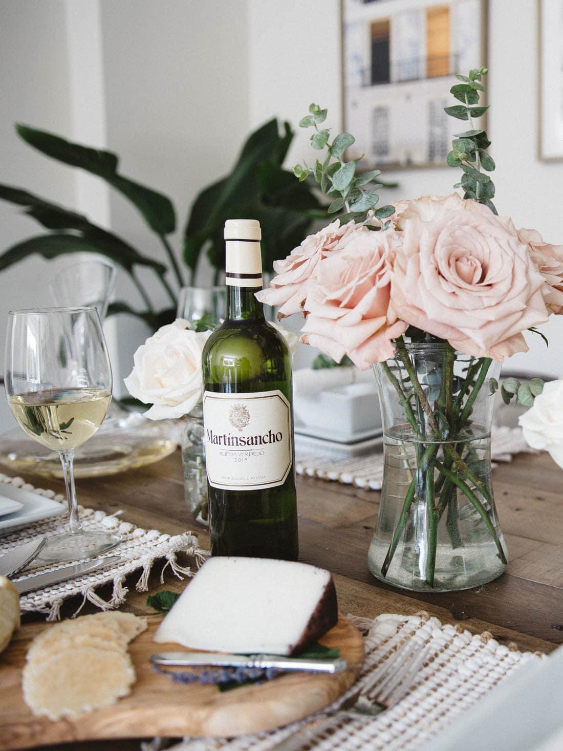 Inexpensive white wine