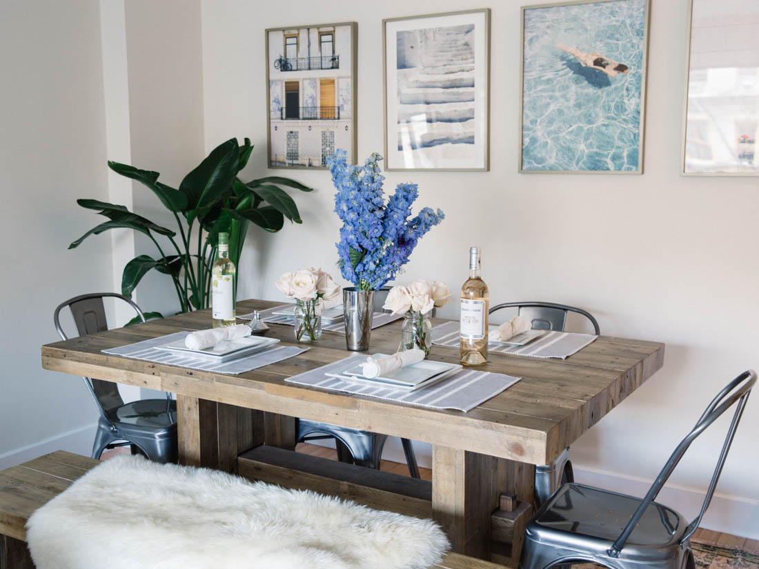 Emmerson Reclaimed Wood Square Dining Table
