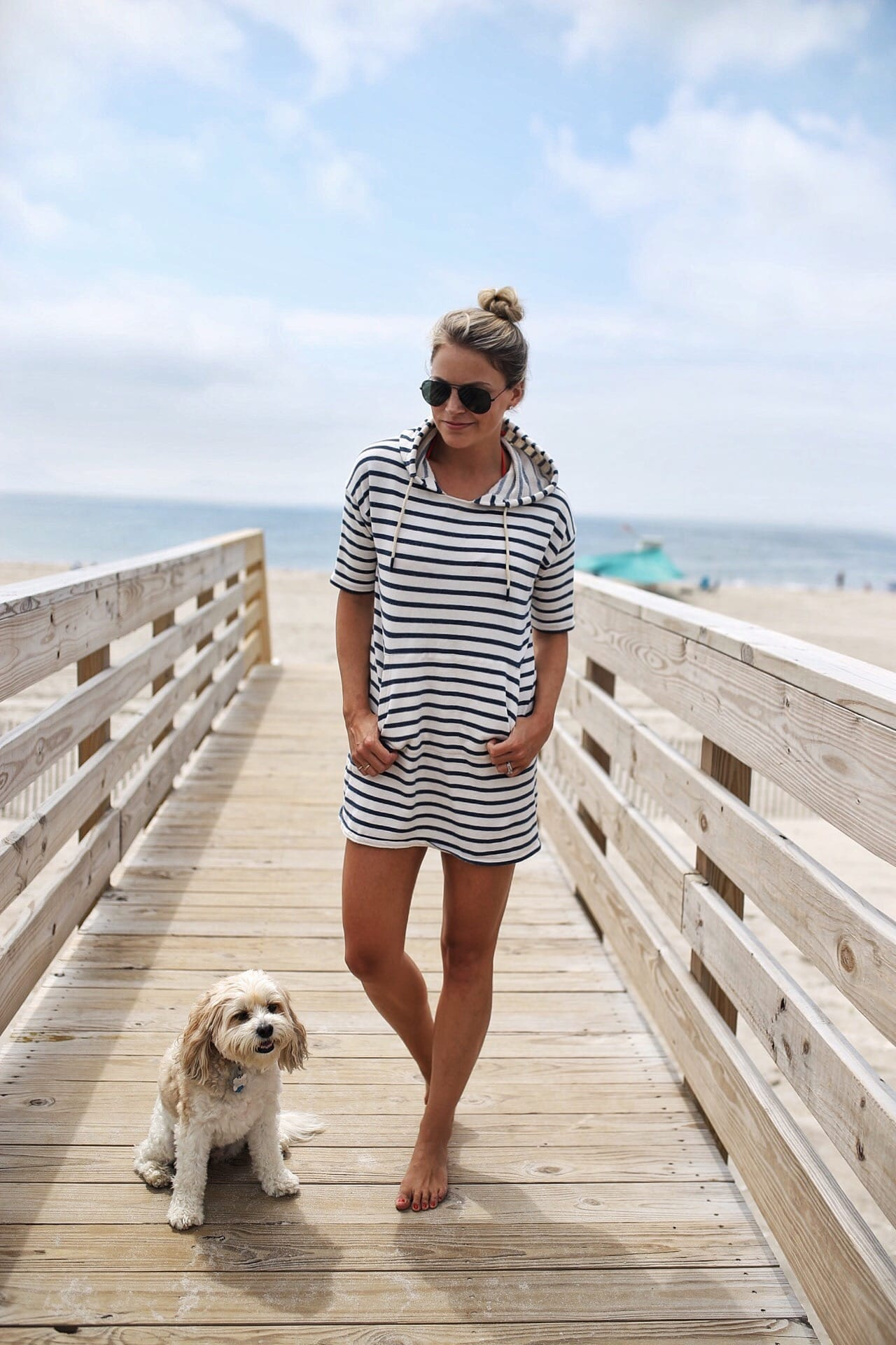 Barbour Striped Dress