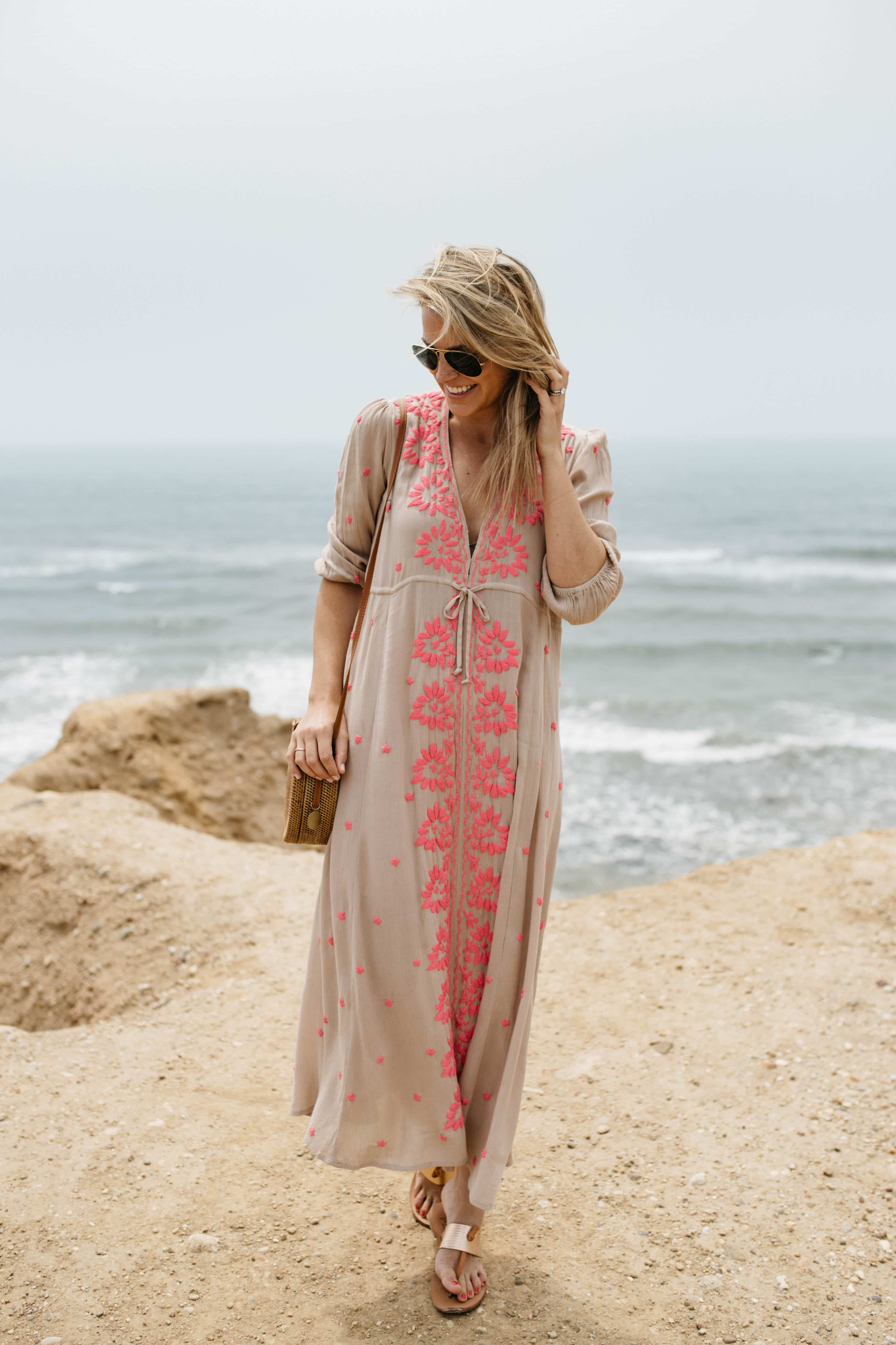 Embroidered Fable Dress