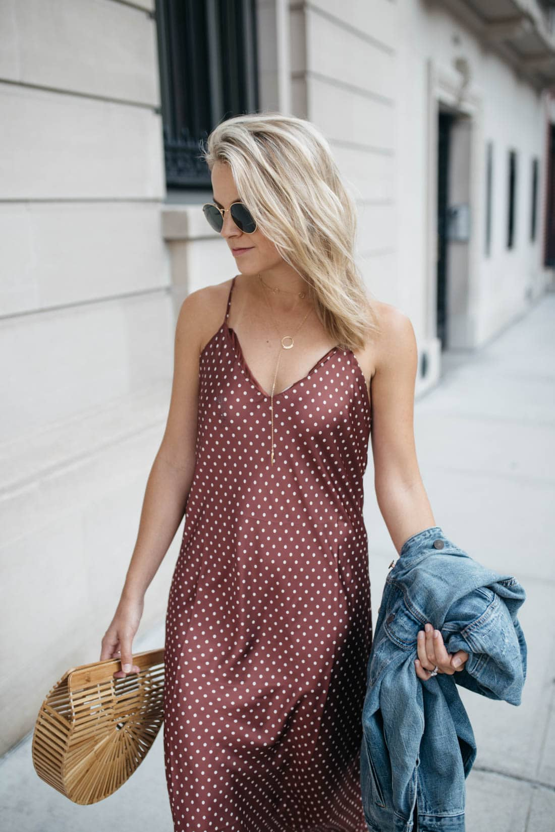 Polkadot Slip Dress